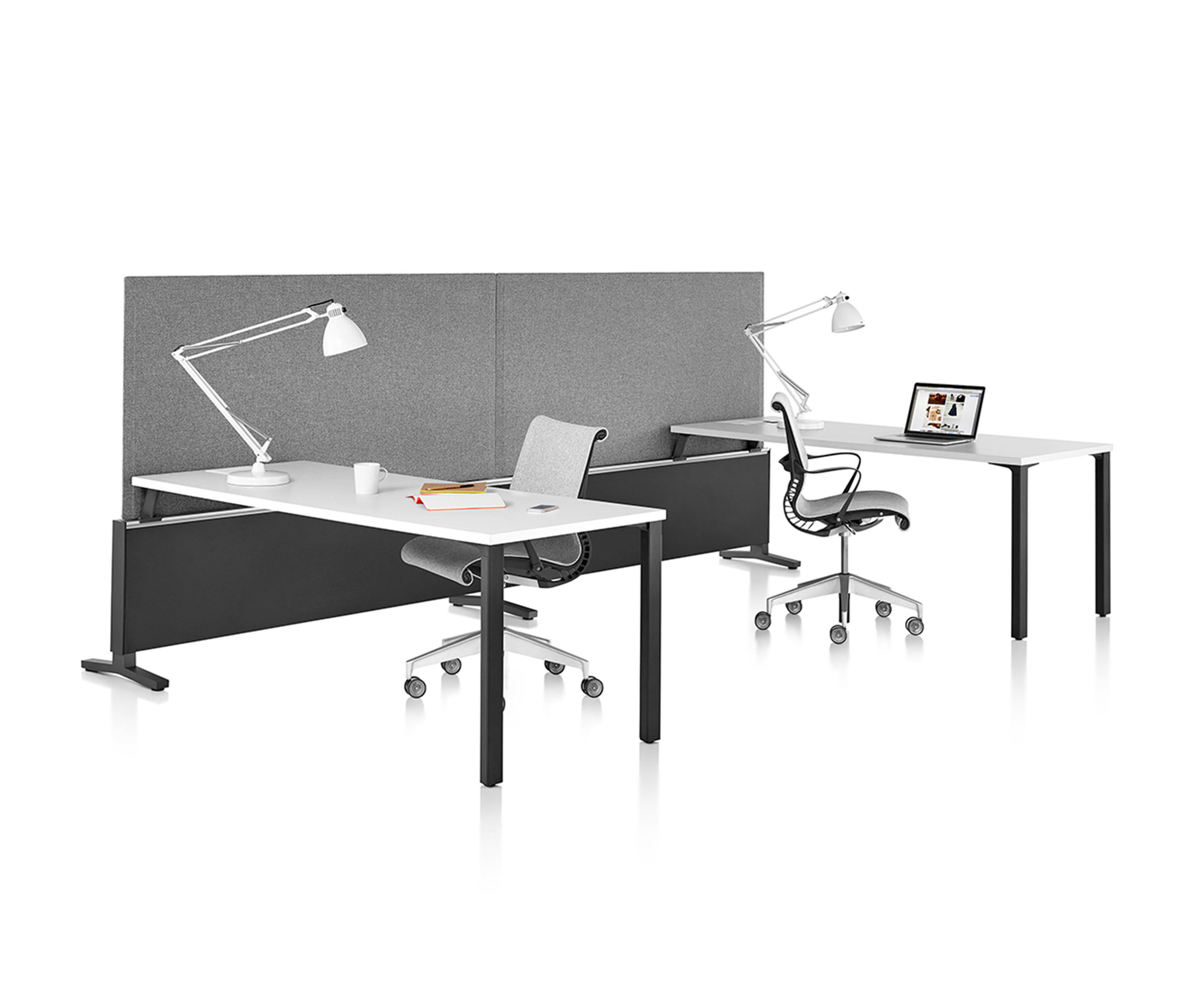 canvas office landscape desking systems from herman