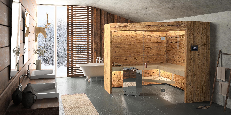 Rustico saunen von k ng architonic for Visillos para salon rustico