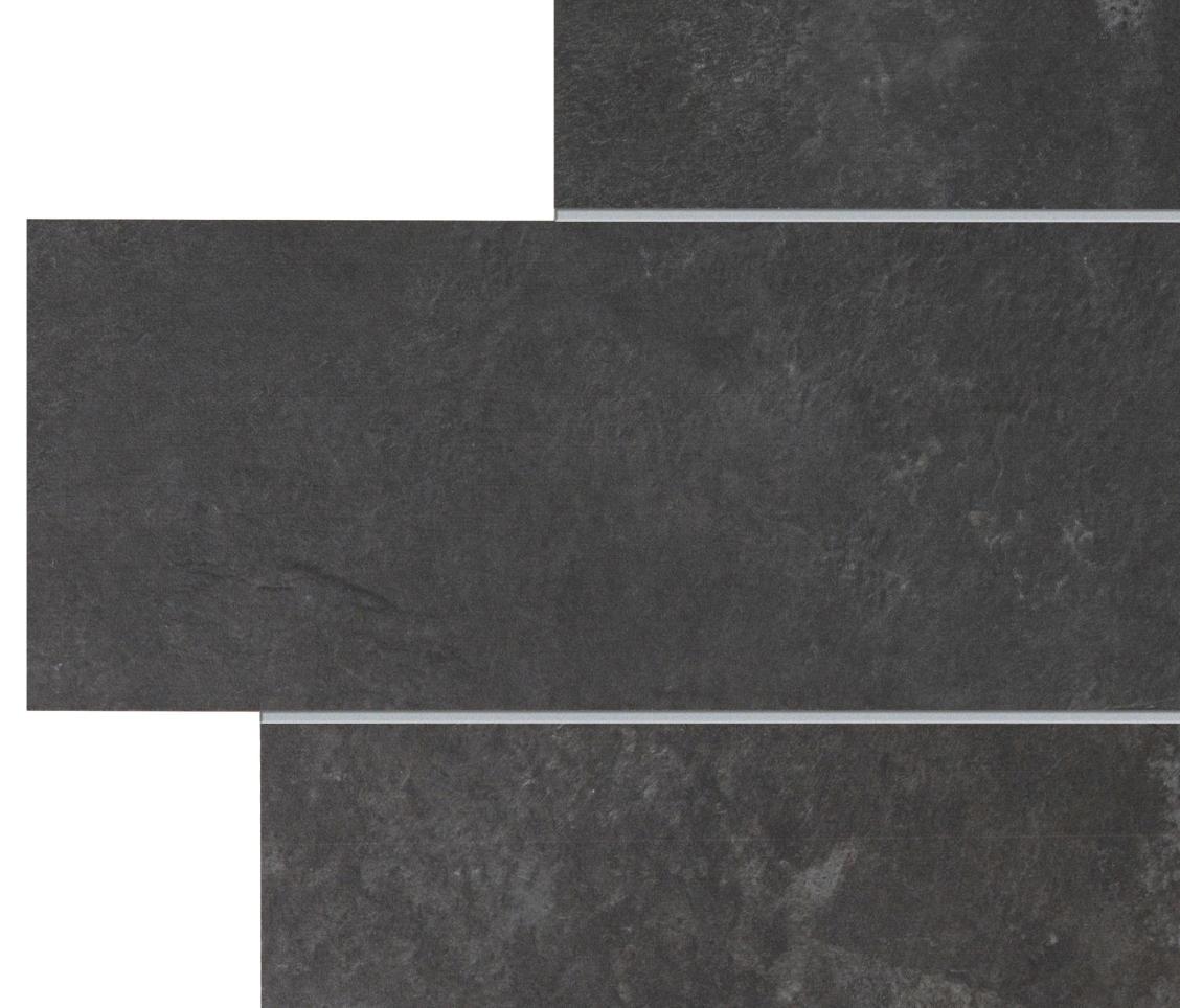 Stonework ardesia nera muretto piastrelle mattonelle per pavimenti ceramiche supergres - Piastrelle di ardesia ...