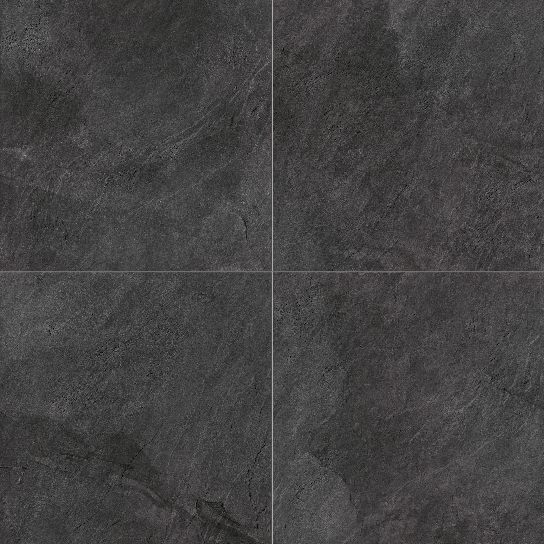 Stonework ardesia nera 60x60 ceramic tiles from - Piastrelle in ardesia ...