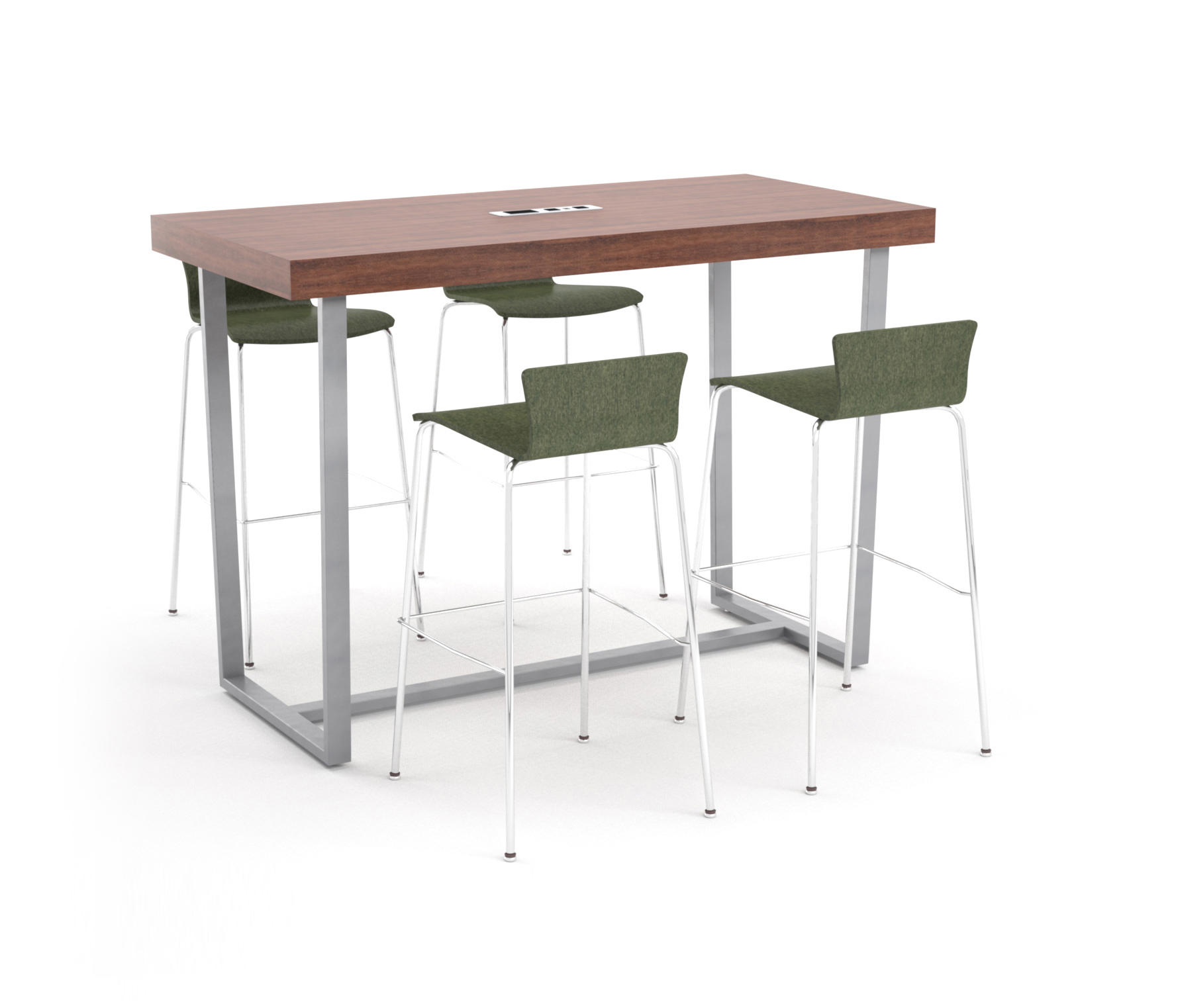 Parma bar height table angled metal table standing tables from erg parma bar height table angled metal table by erg international standing tables watchthetrailerfo