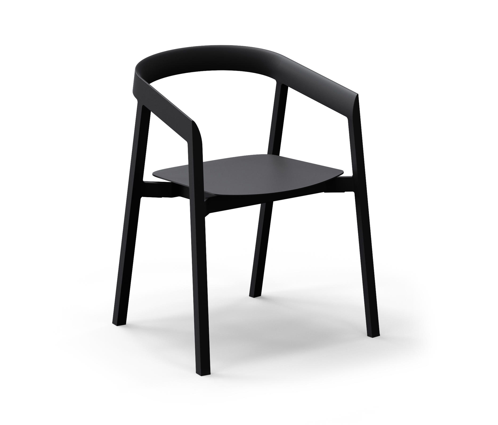MORNINGTON DINING CHAIR WITH ALUMINIUM SEAT Restaurant chairs