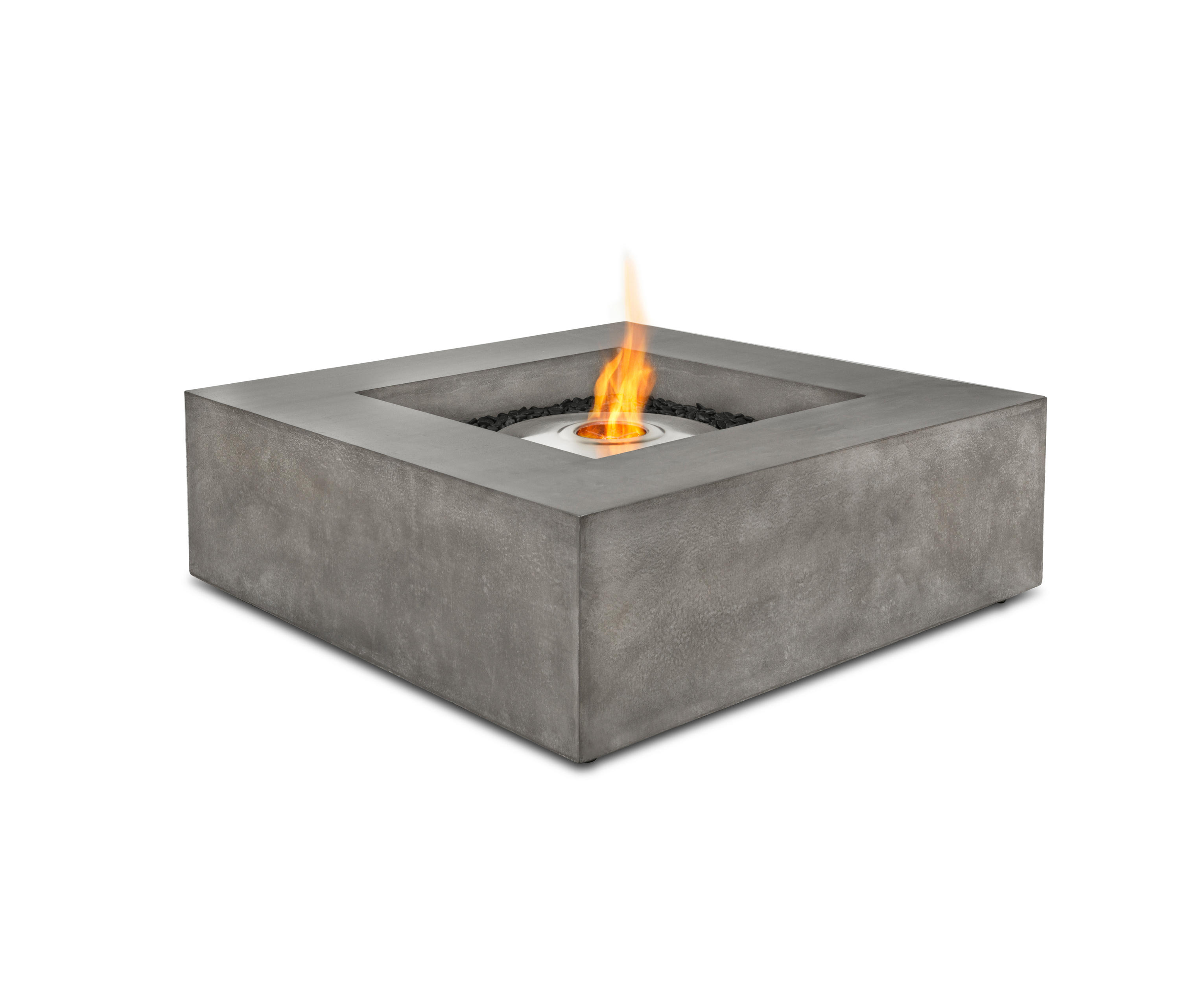 base garden fire pits from ecosmart fire architonic. Black Bedroom Furniture Sets. Home Design Ideas