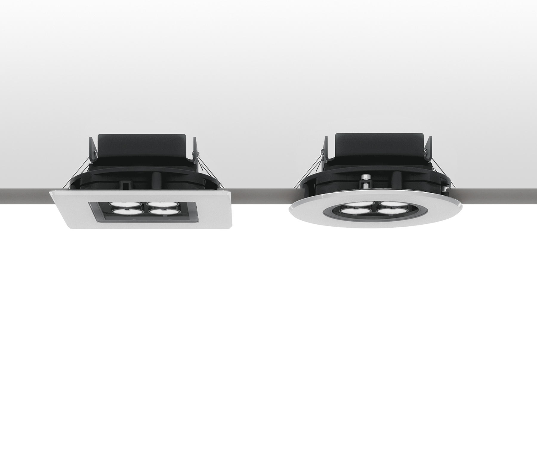 ego downlight outdoor floor lights from artemide architectural