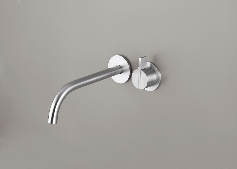 PB SET01 | WALL MOUNTED BASIN MIXER WITH SPOUT - Wash basin taps ...