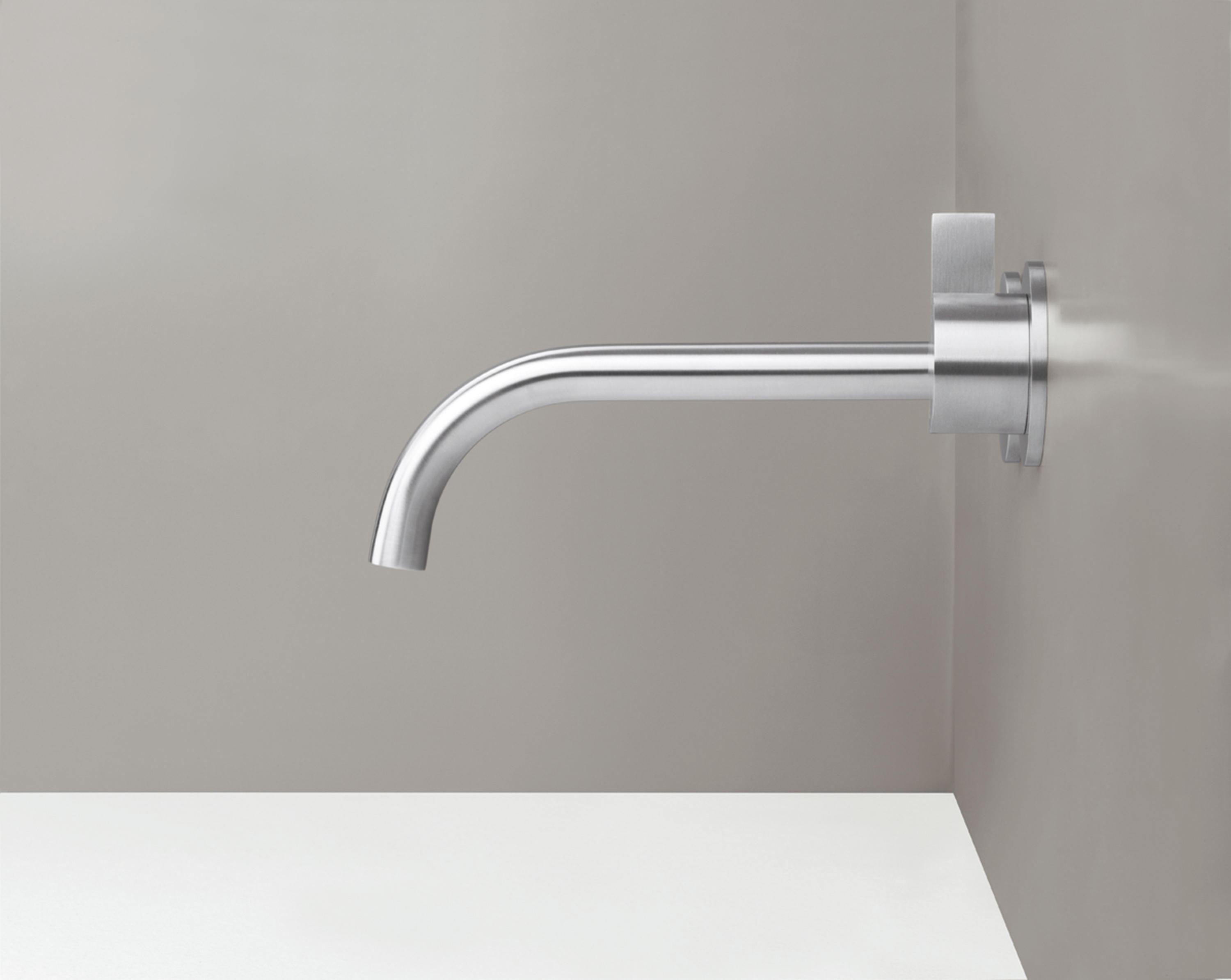 Pb Set01 Wall Mounted Basin Mixer With Spout By Co Wash Taps