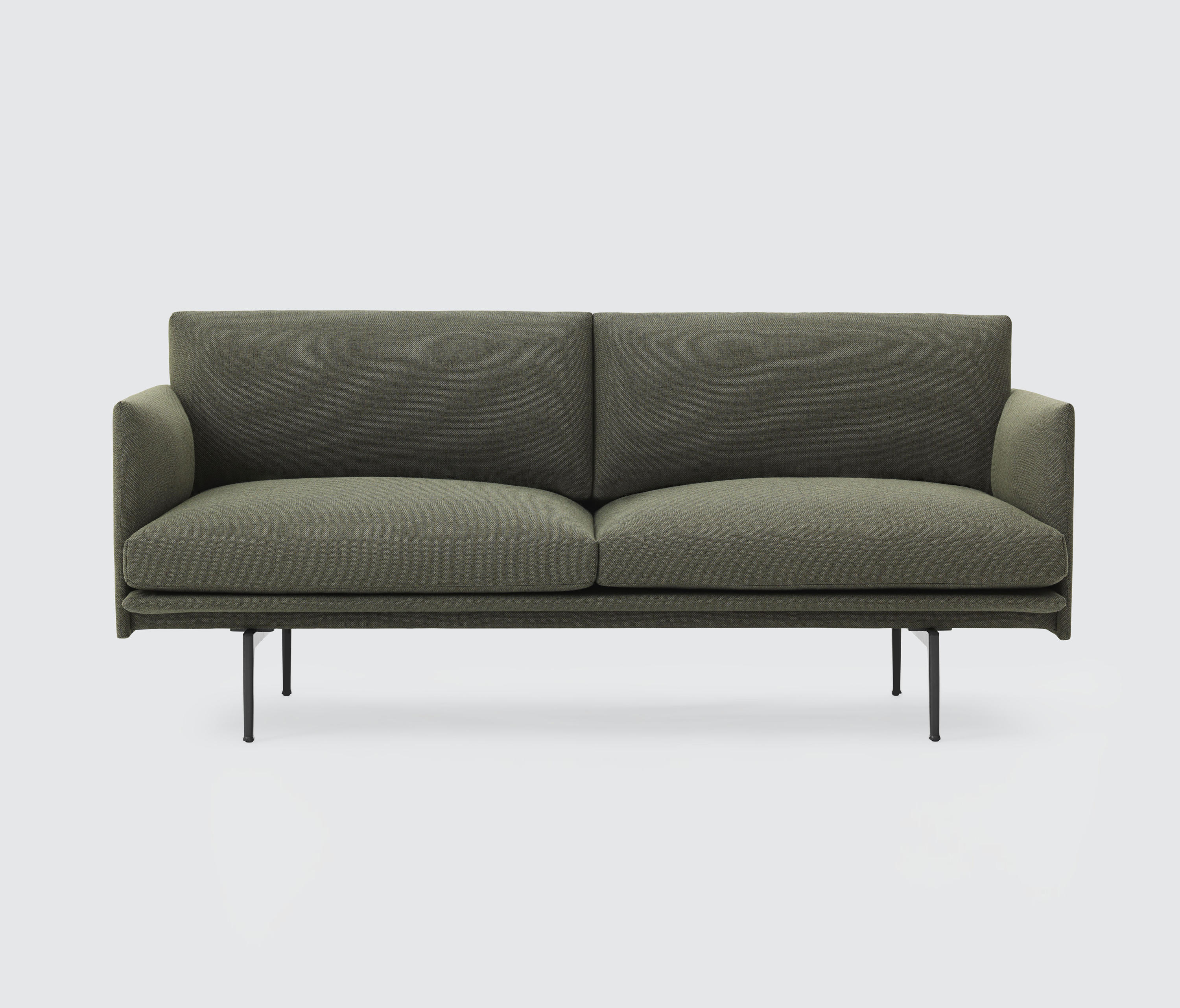 outline sofa 2 seater lounge sofas from muuto architonic. Black Bedroom Furniture Sets. Home Design Ideas