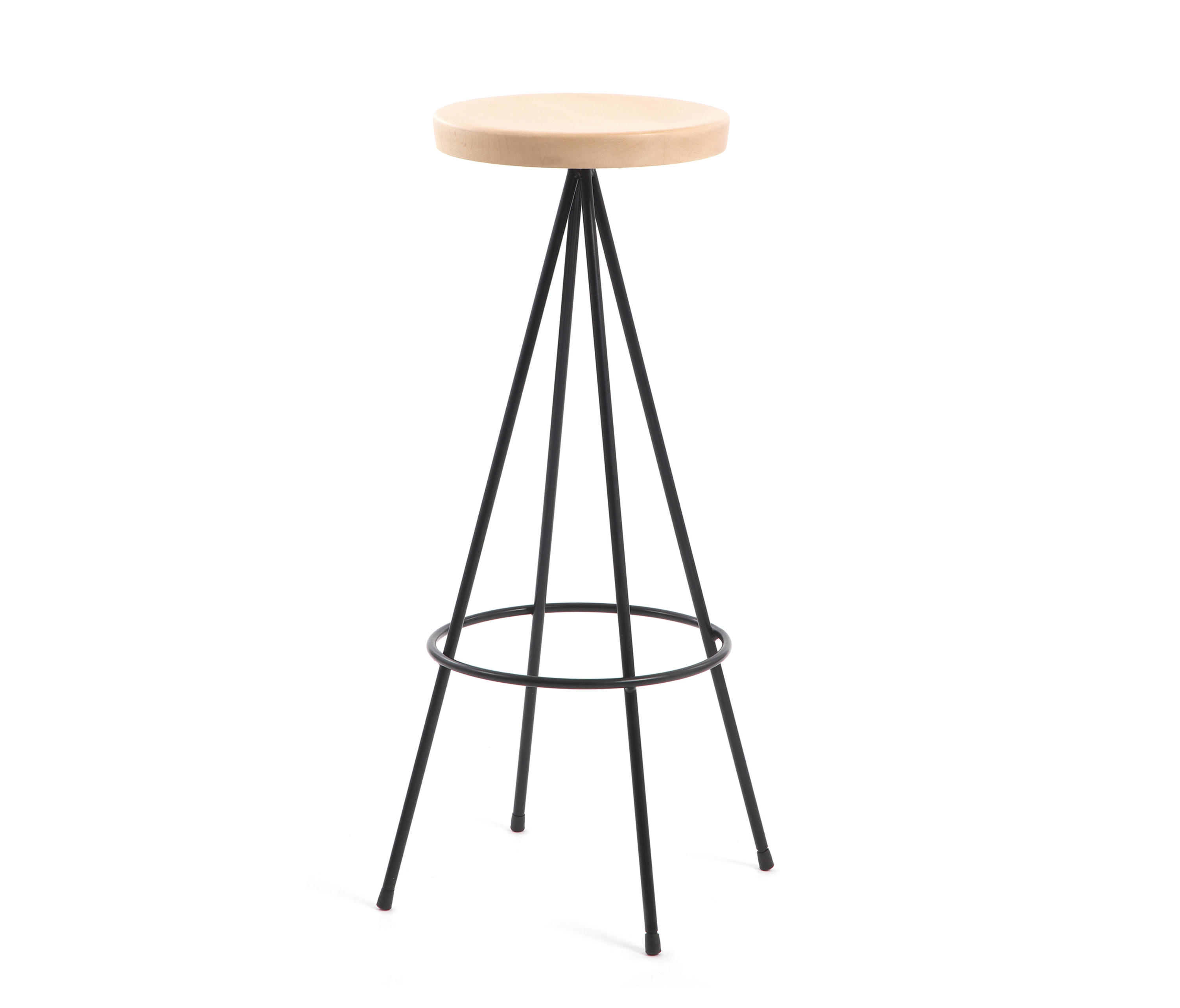 Nuta Wood Stool 75 Bar Stools From Mobles 114 Architonic