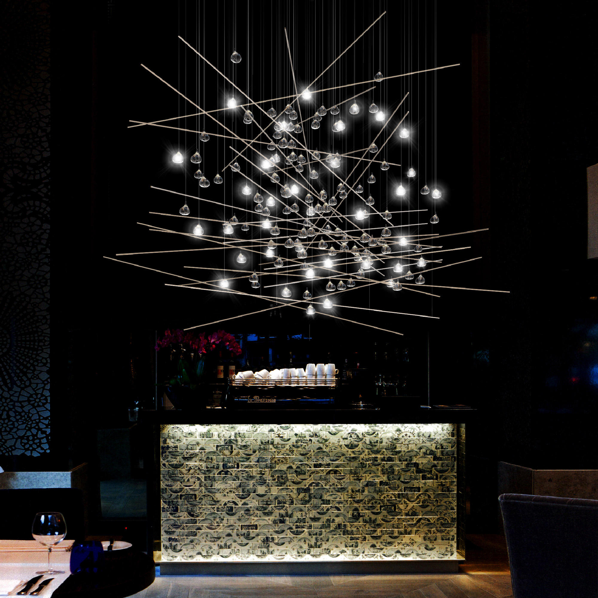 Pear Tree Suspended Lights From Yellow Goat Design