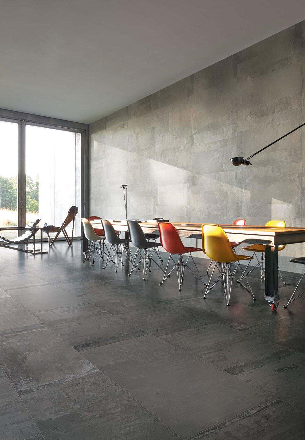 Contemporary Stone Greyanthracite Ceramic Tiles From Cerim By