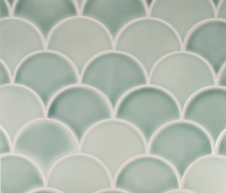 Large Fan Ceramic Tiles From Pratt Larson Ceramics Architonic