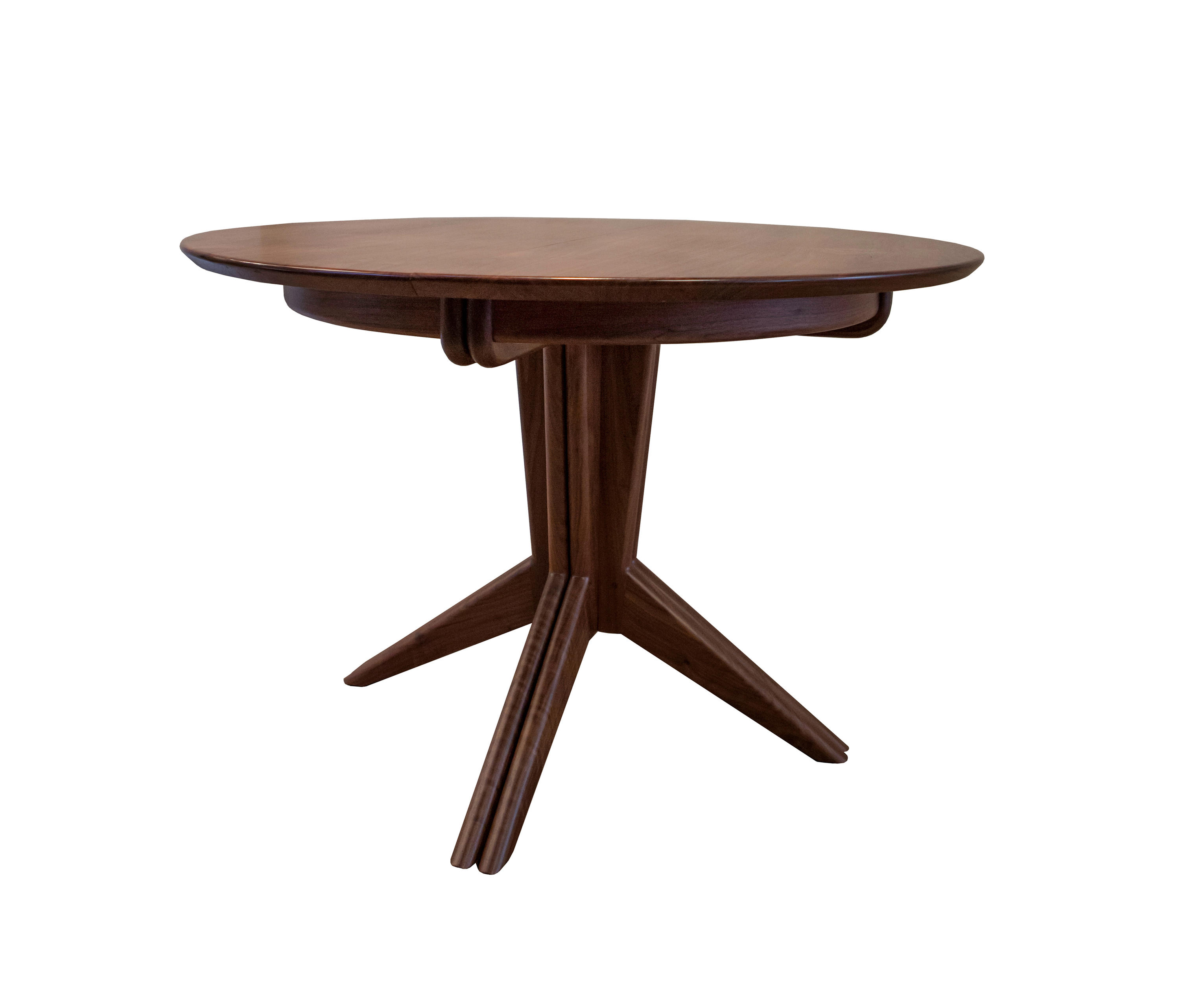 Pedestal extension dining table dining tables from smilow design architonic - Pedestal kitchen tables ...