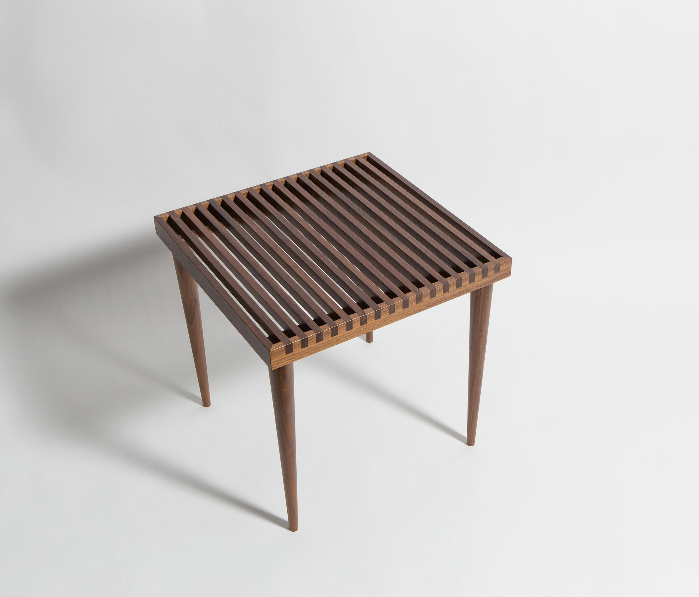 slatted stacking tables  side tables from smilow design  architonic -  slatted stacking tables by smilow design  side tables