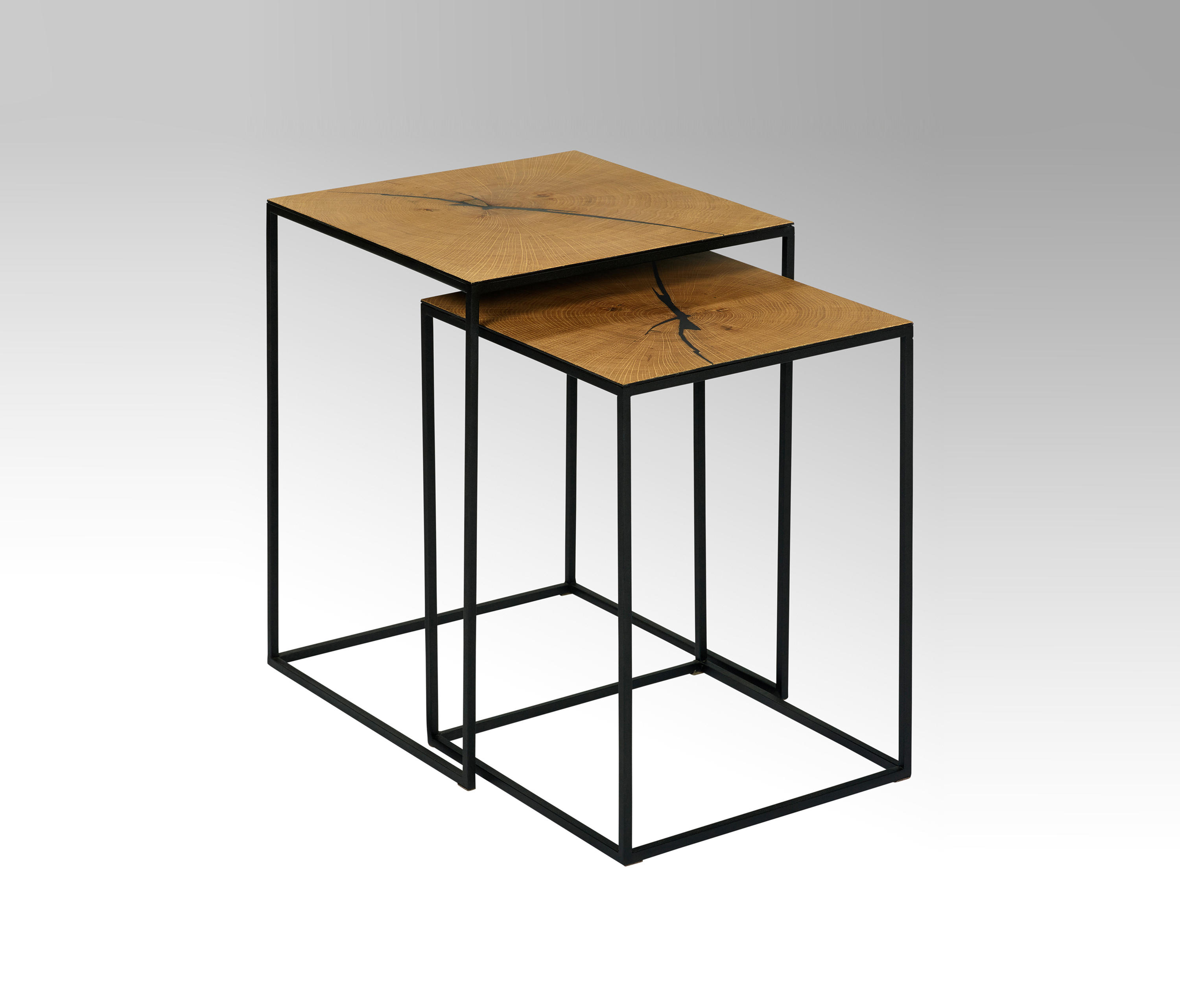 Sayo Tableset Of 2 By Lambert Side Tables