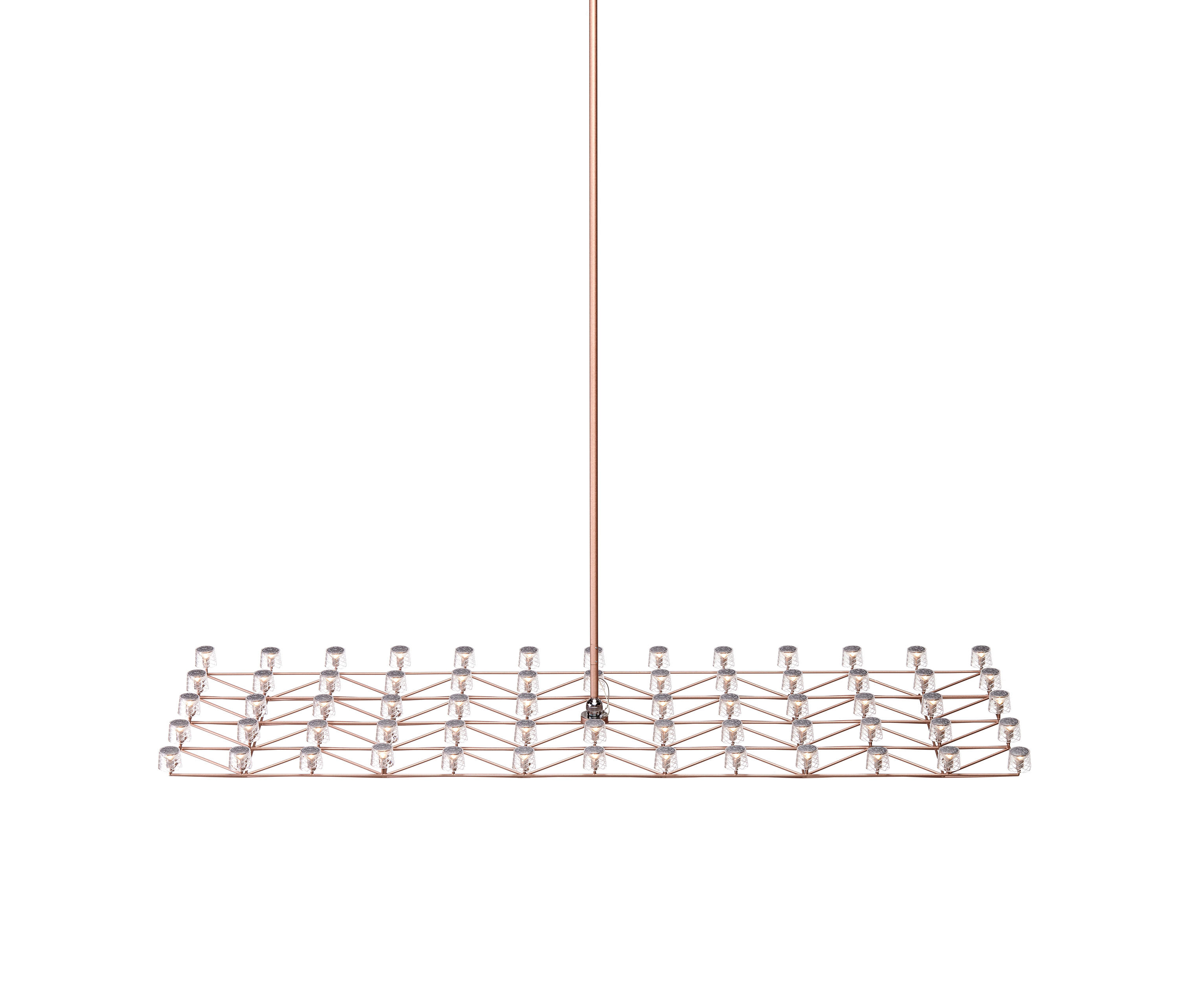 SPACE-FRAME LARGE - Chandeliers from moooi   Architonic