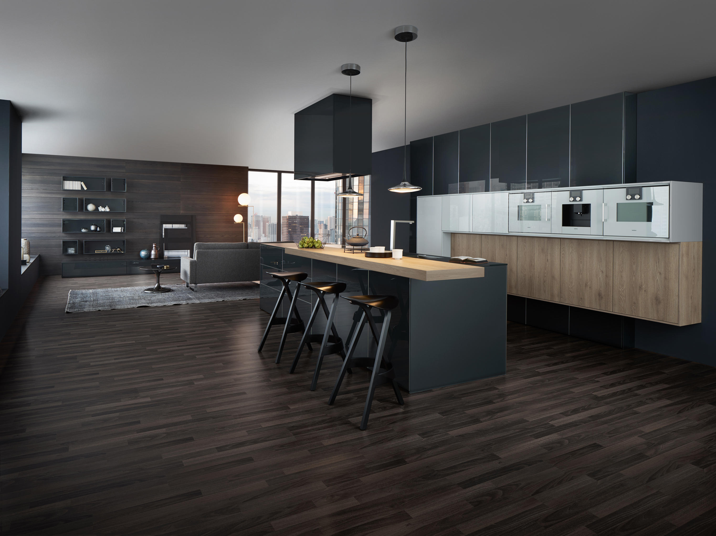 synthia ios largo lg fitted kitchens from leicht k chen ag architonic. Black Bedroom Furniture Sets. Home Design Ideas