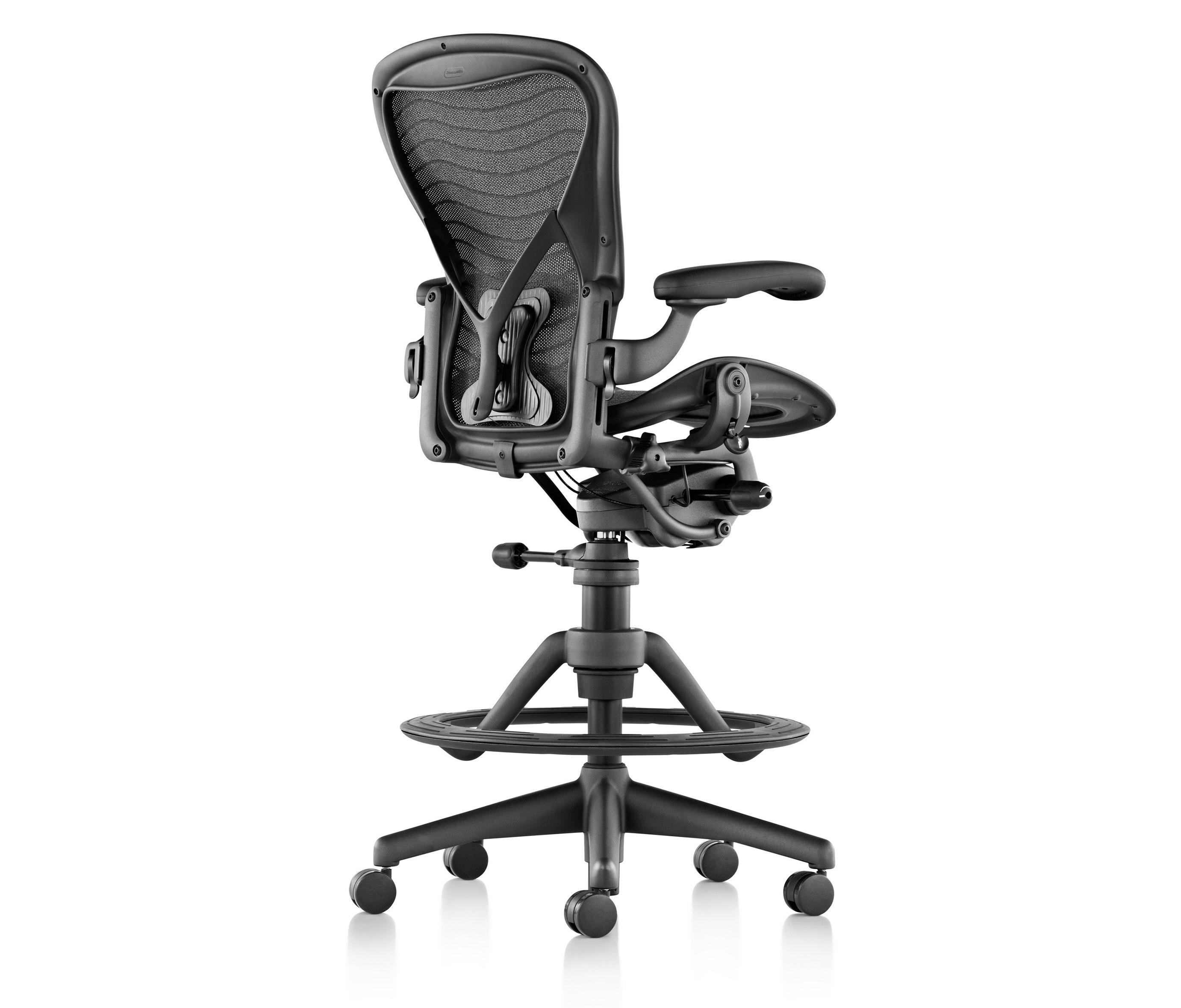 aeron stool von herman miller countersthle - Herman Miller Tischsysteme