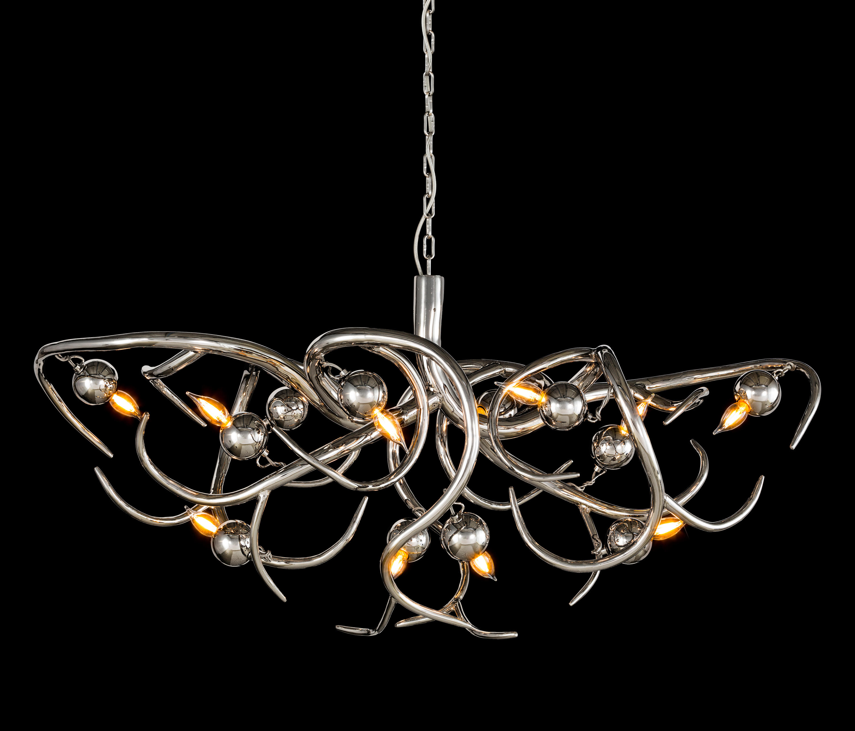 eve chandelier oval ceiling suspended chandeliers from. Black Bedroom Furniture Sets. Home Design Ideas