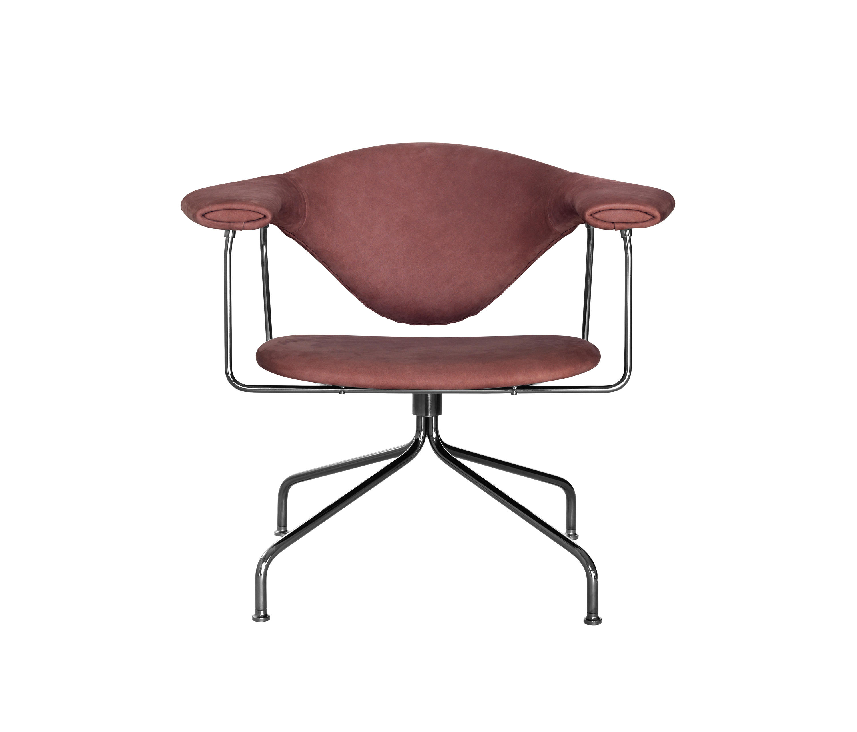 Masculo Swivel Lounge Chair Armchairs From Gubi Architonic