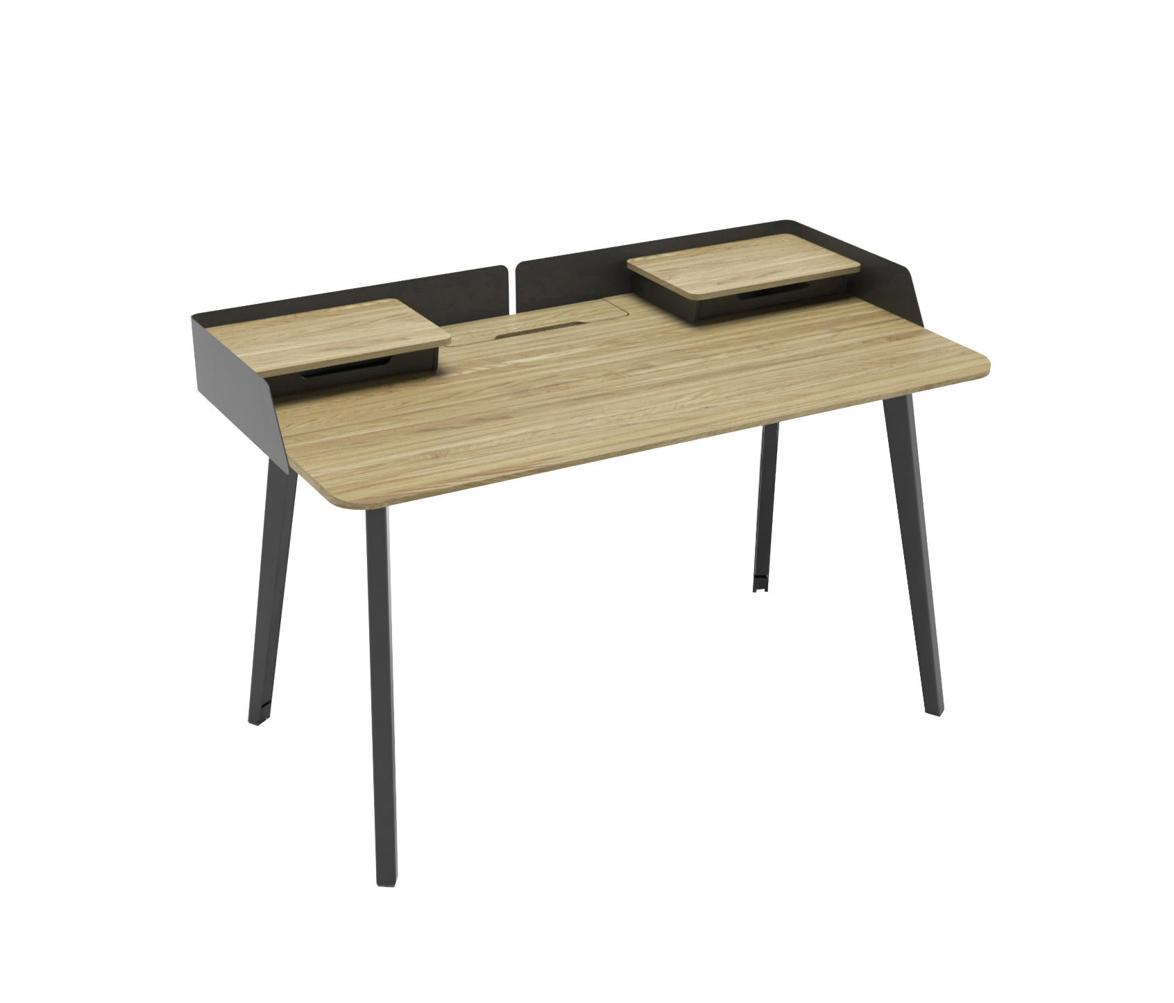 table work rectangular high sedus wooden product commercial contemporary desk temptation prod