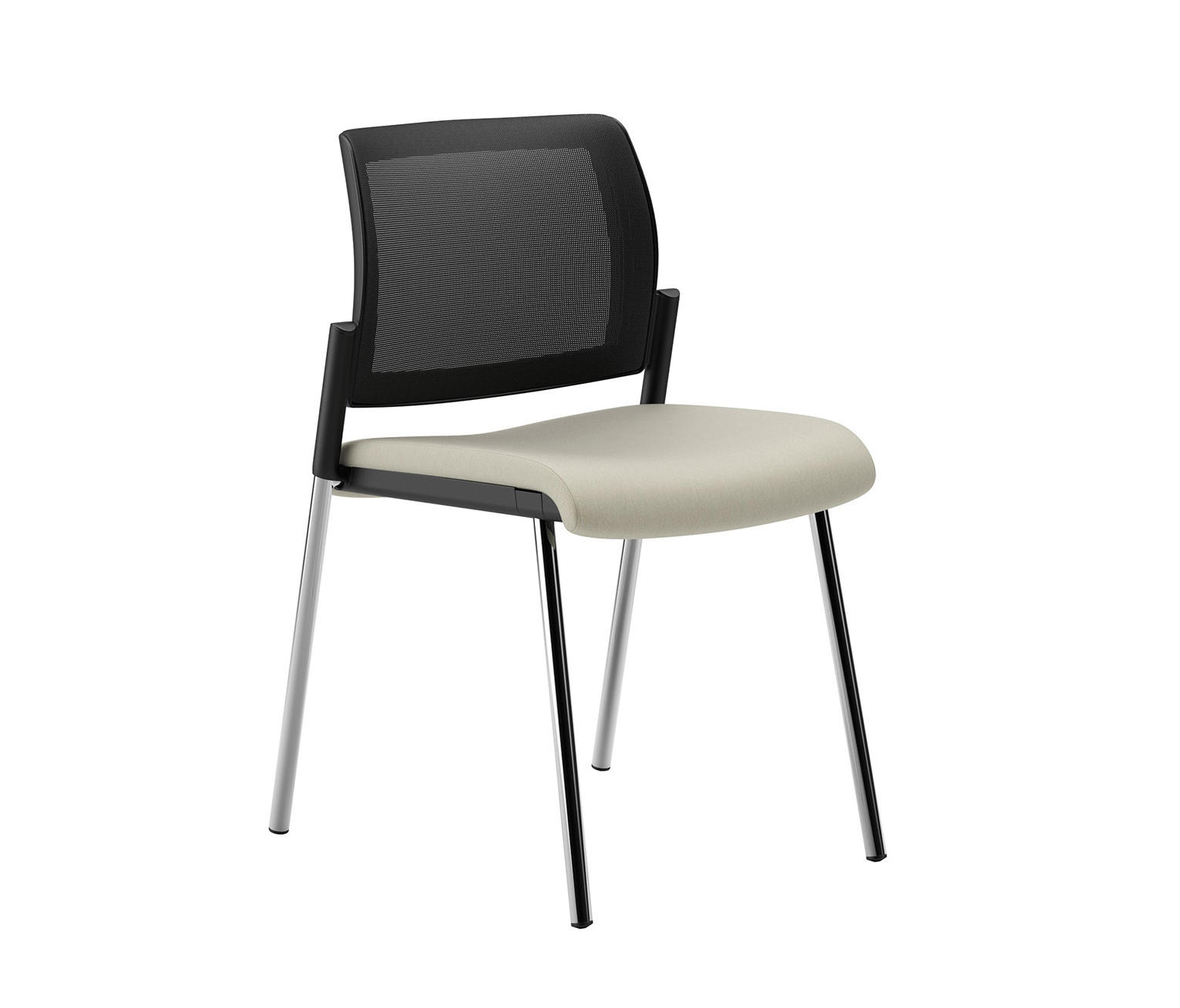 Office Furniture Guest Chairs lavoro guest chair with mesh back - visitors chairs / side chairs