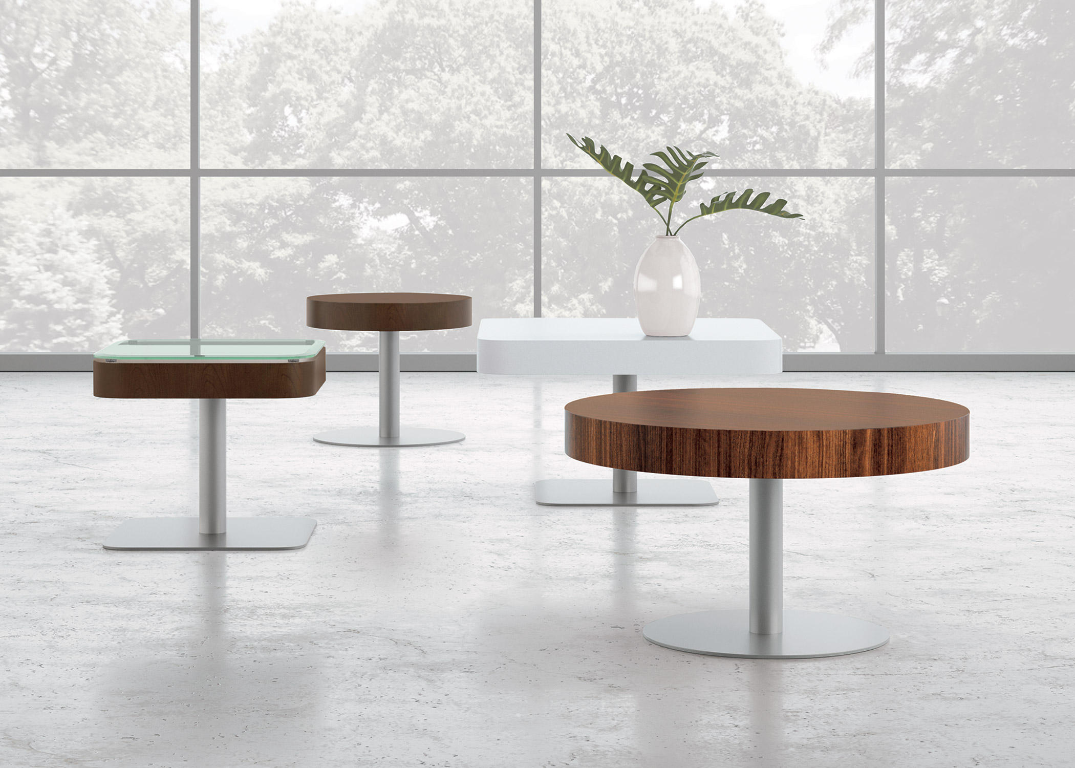 Staccato Side Table By National Office Furniture Tables
