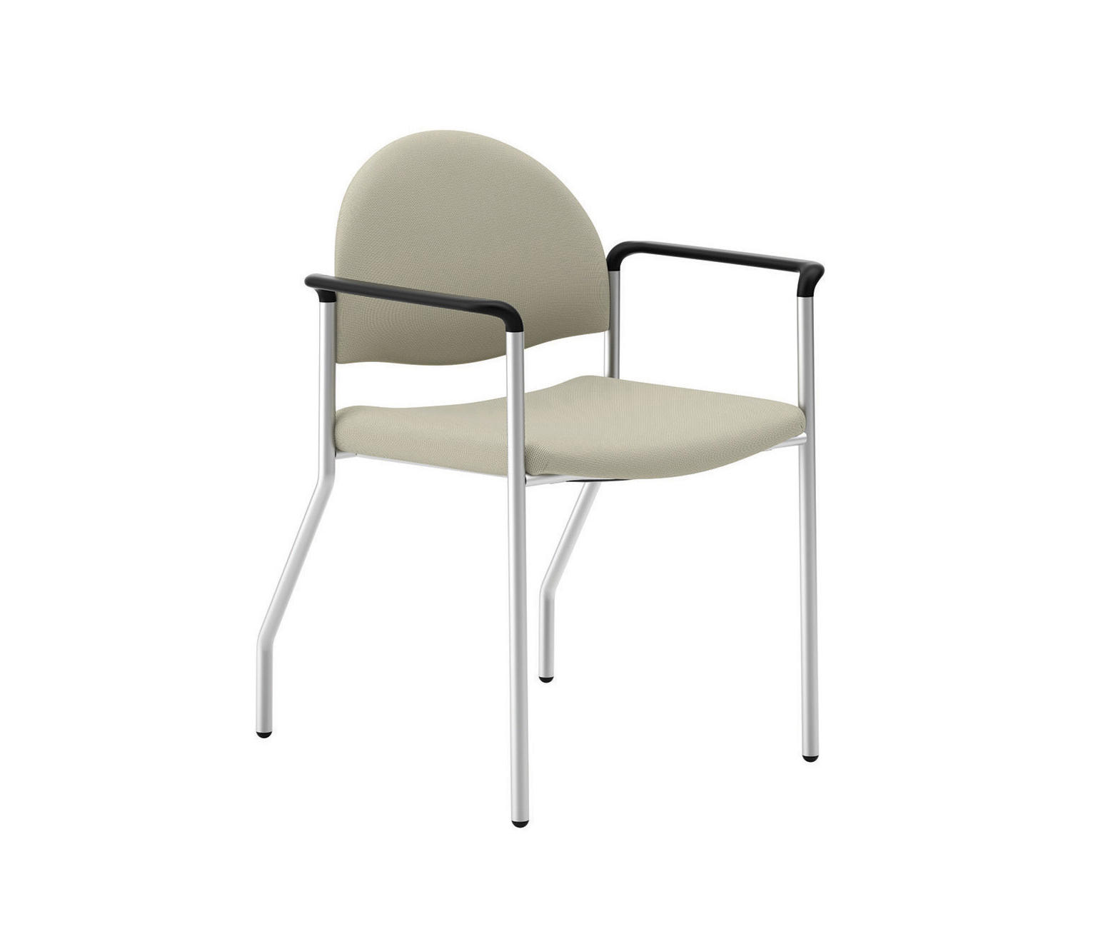 Tag Stacking Chair Arc Back Upholstered Back/Wall Saver Legs By National  Office Furniture |