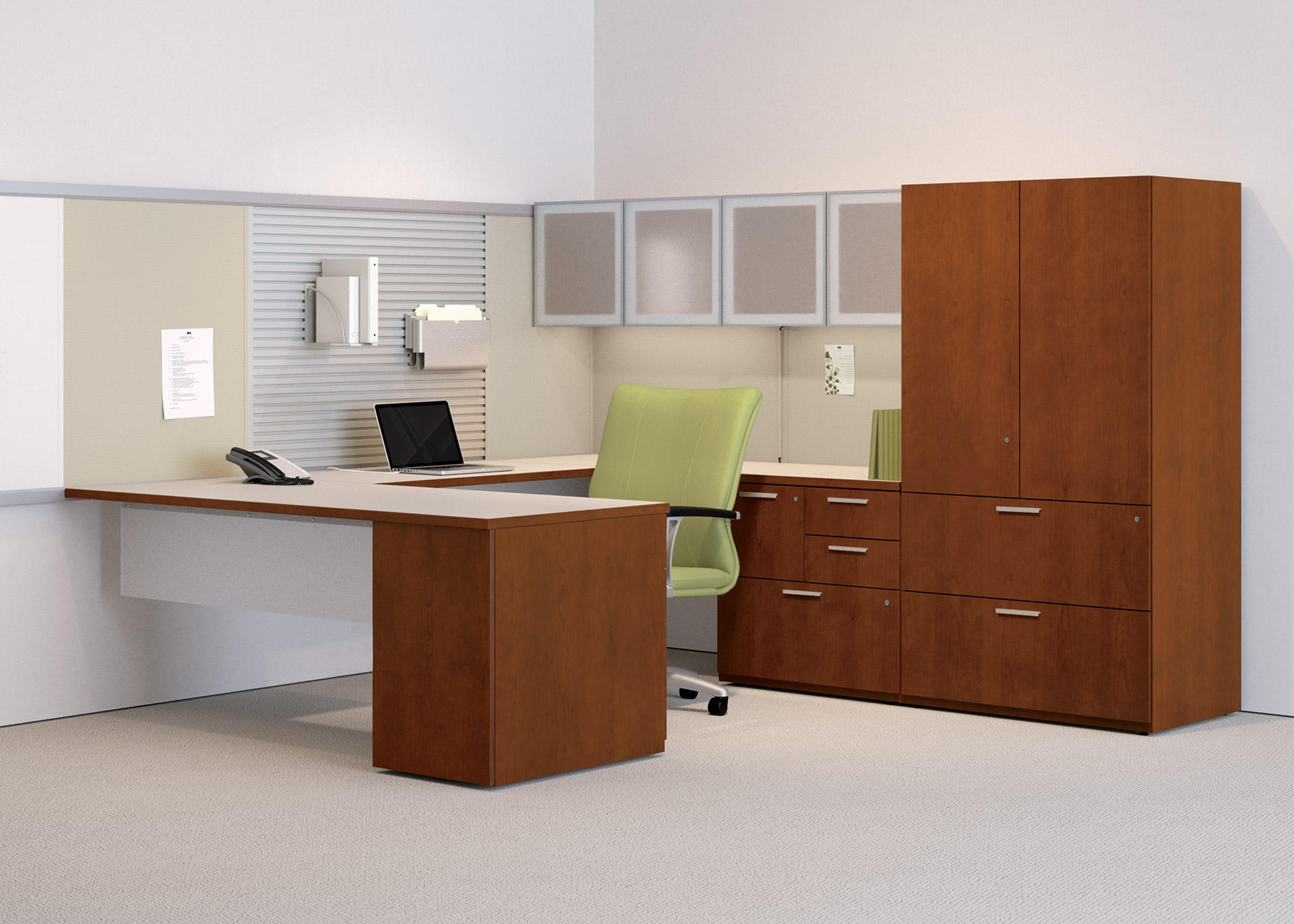 WAVEWORKS DESK - Individual Desks From National Office Furniture