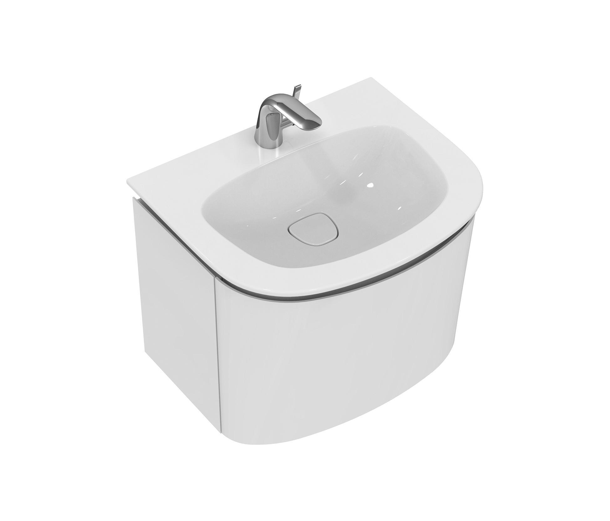 dea waschtisch unterschrank 600mm wash basins from ideal standard architonic. Black Bedroom Furniture Sets. Home Design Ideas