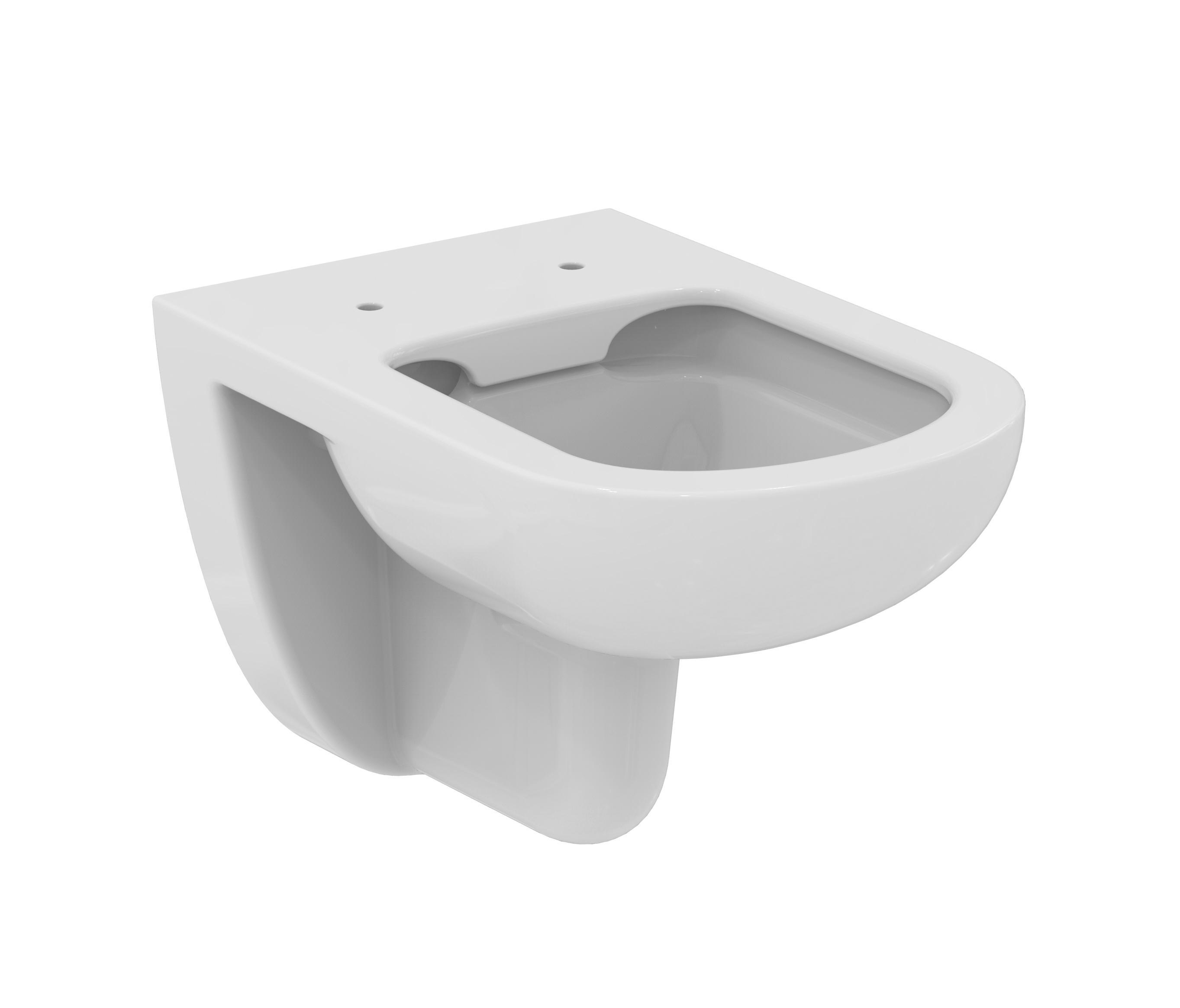 eurovit wandtiefsp lklosett ohne sp lrand toilets from ideal standard architonic. Black Bedroom Furniture Sets. Home Design Ideas
