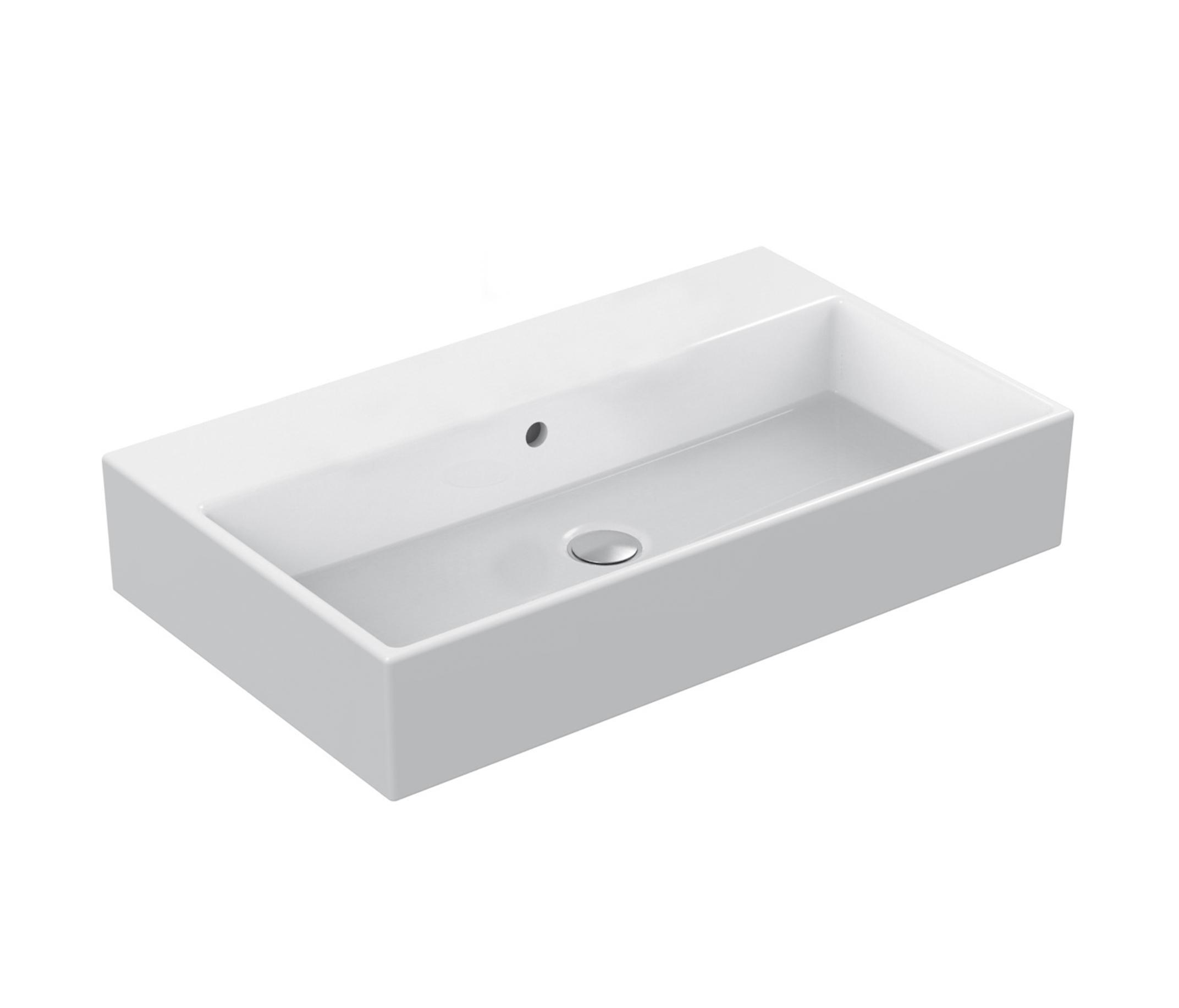 strada waschtisch 710mm ohne hahnloch wash basins from ideal standard architonic. Black Bedroom Furniture Sets. Home Design Ideas