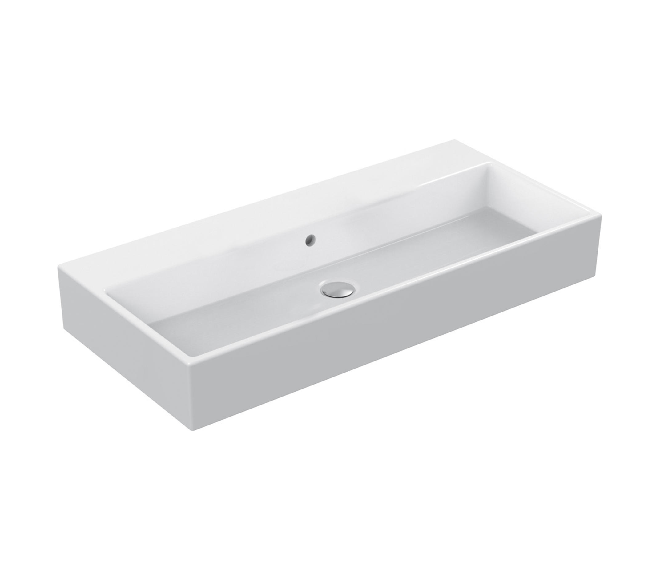 strada waschtisch 910mm ohne hahnloch wash basins from ideal standard architonic. Black Bedroom Furniture Sets. Home Design Ideas