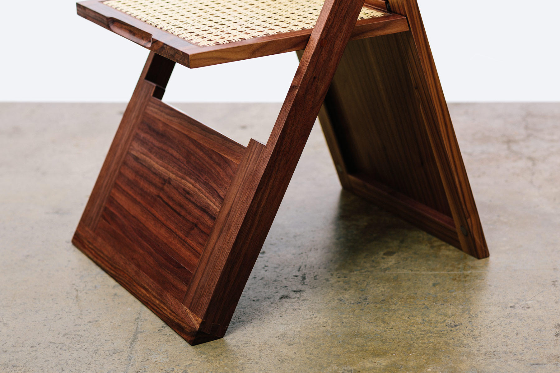 The Walnut Golden Ratio Chair Chairs From Bellwether Furniture