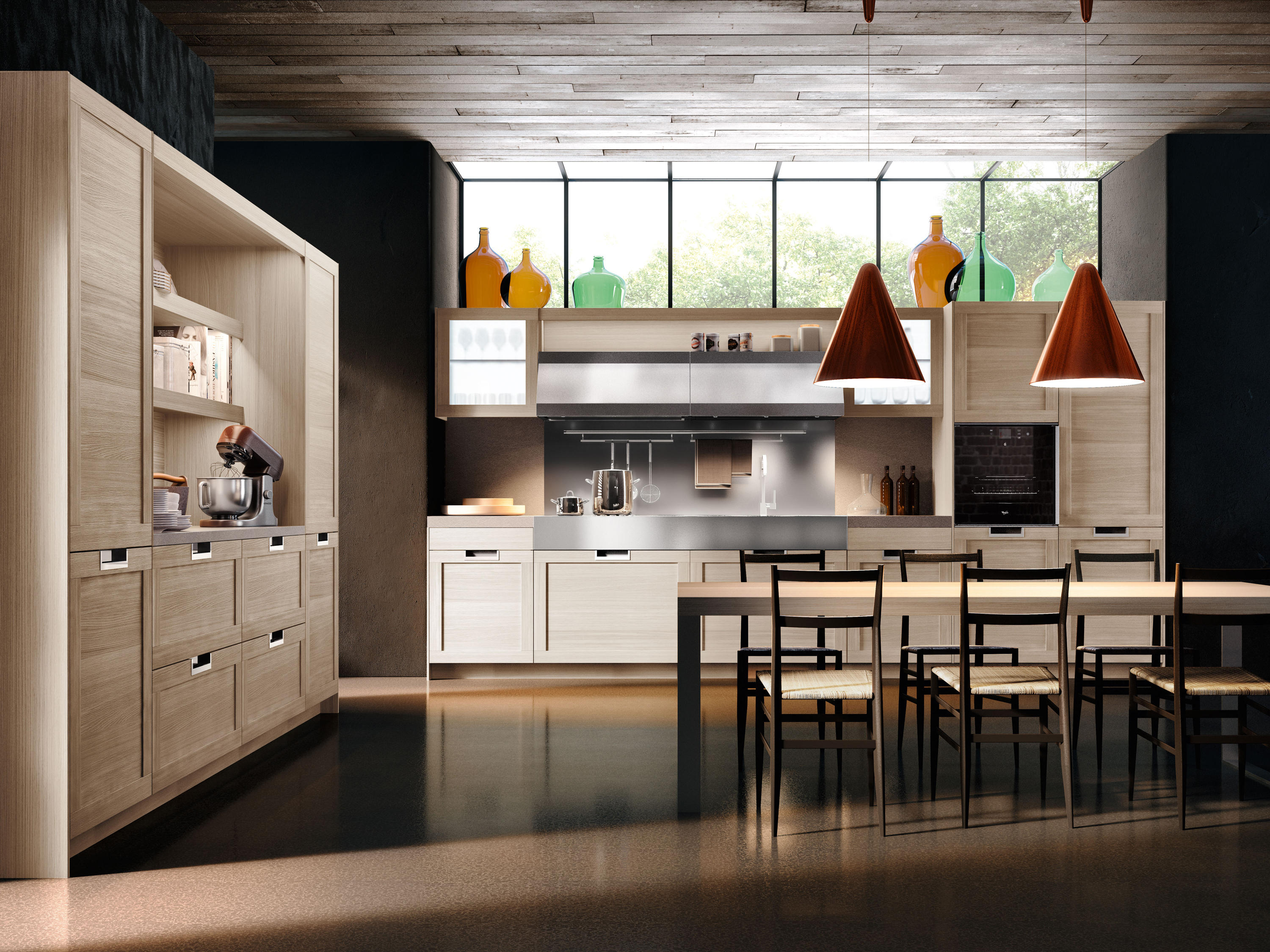 Lux Clic By Snaidero Usa Ed Kitchens