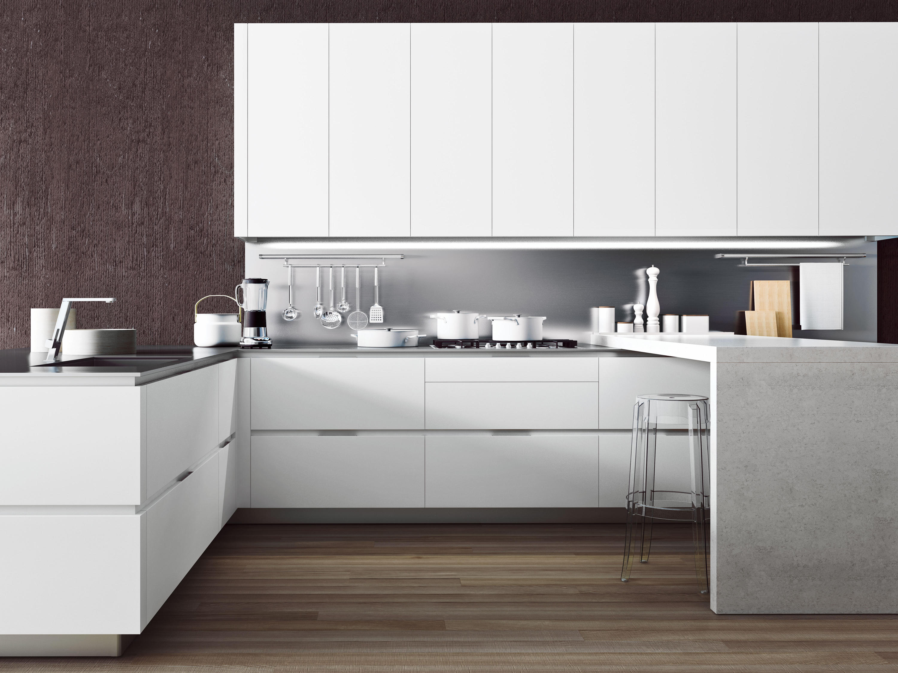 ORANGE | BIANCO NORDIC - Fitted kitchens from Snaidero USA | Architonic