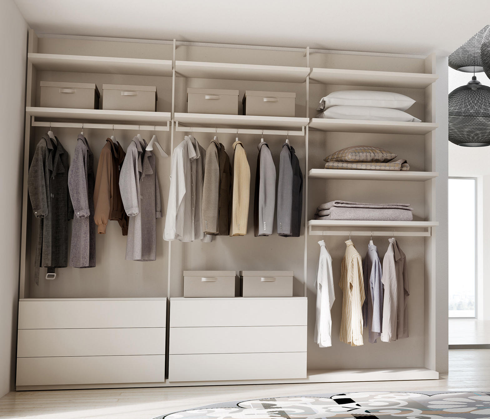 Cabina DR | Dressing Room By CACCARO | Walk In Wardrobes ...