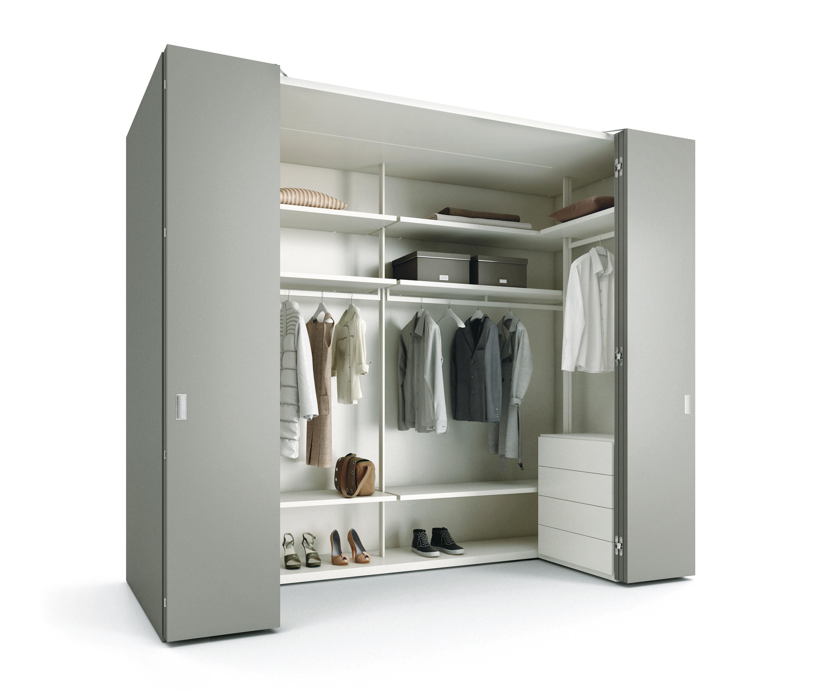 camerino db walk in wardrobe walk in wardrobes from caccaro architonic. Black Bedroom Furniture Sets. Home Design Ideas