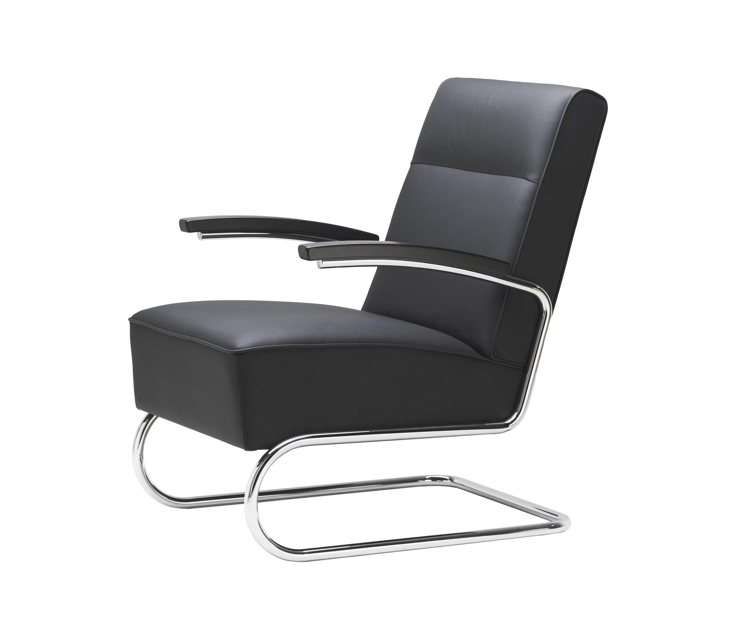 s 412 lounge chairs from thonet architonic. Black Bedroom Furniture Sets. Home Design Ideas