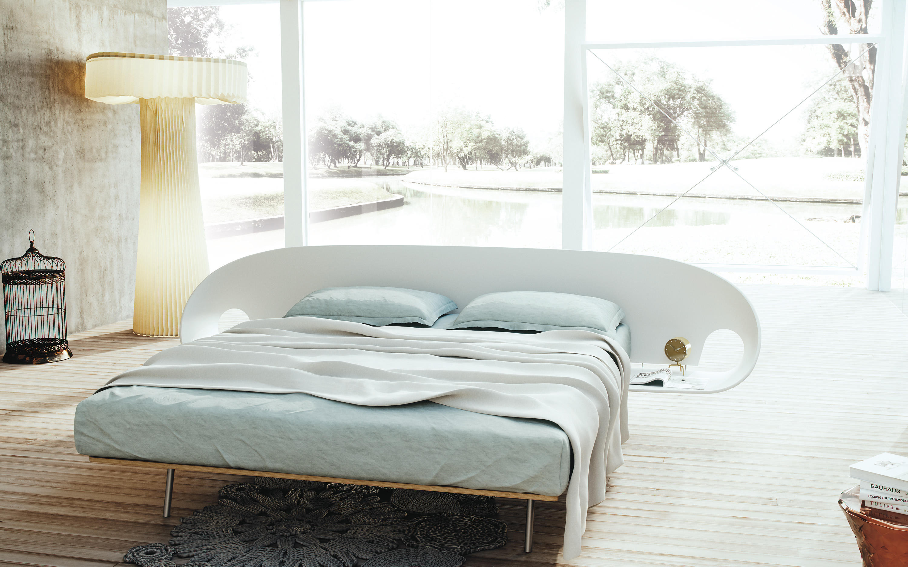 Infolio Bed Double Beds From Caccaro Architonic