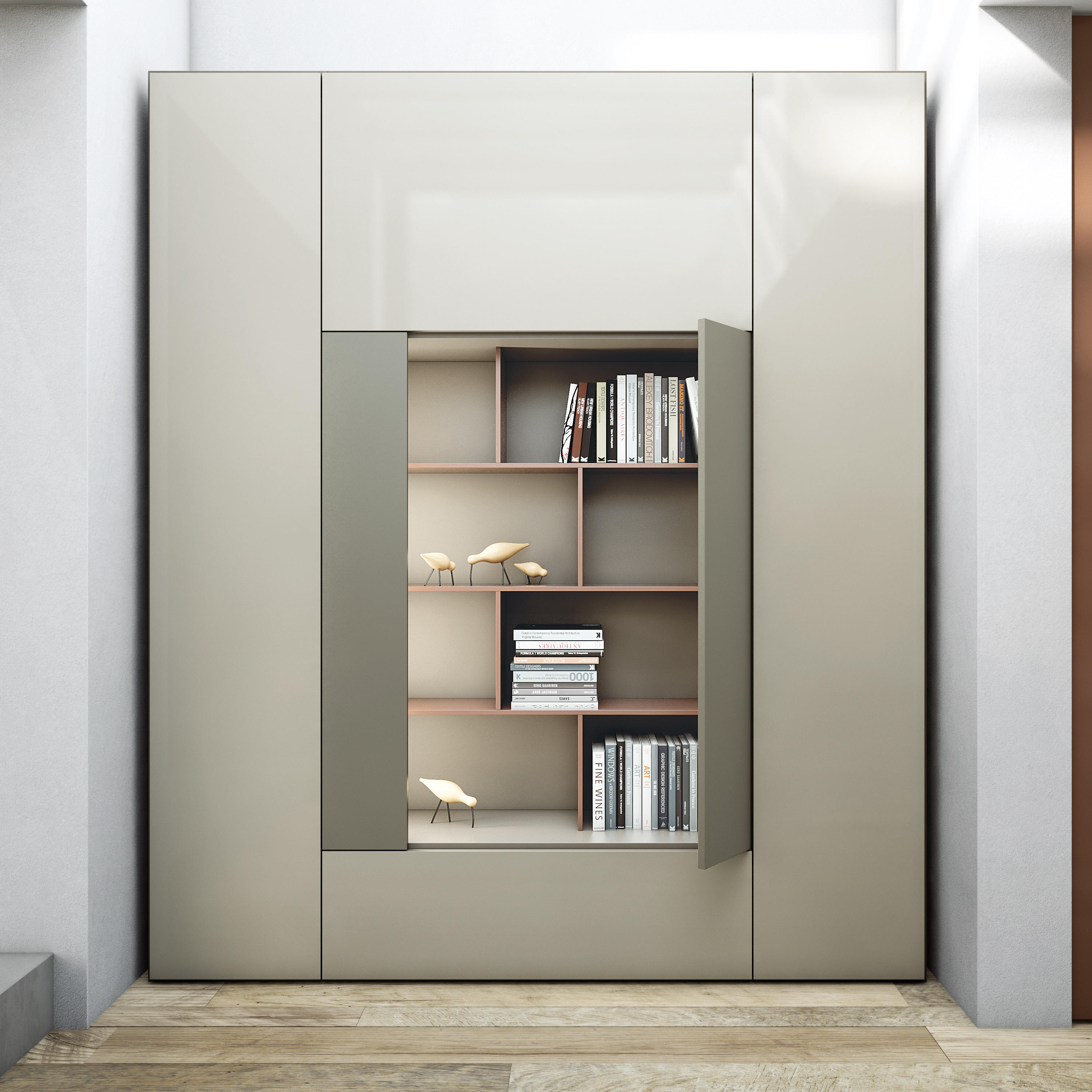 BOOKCASE MODULE - Cabinets From CACCARO