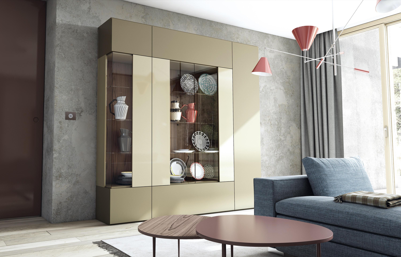 Roomy modulo vetrina vetrine vetrinette caccaro for Cap villa del conte