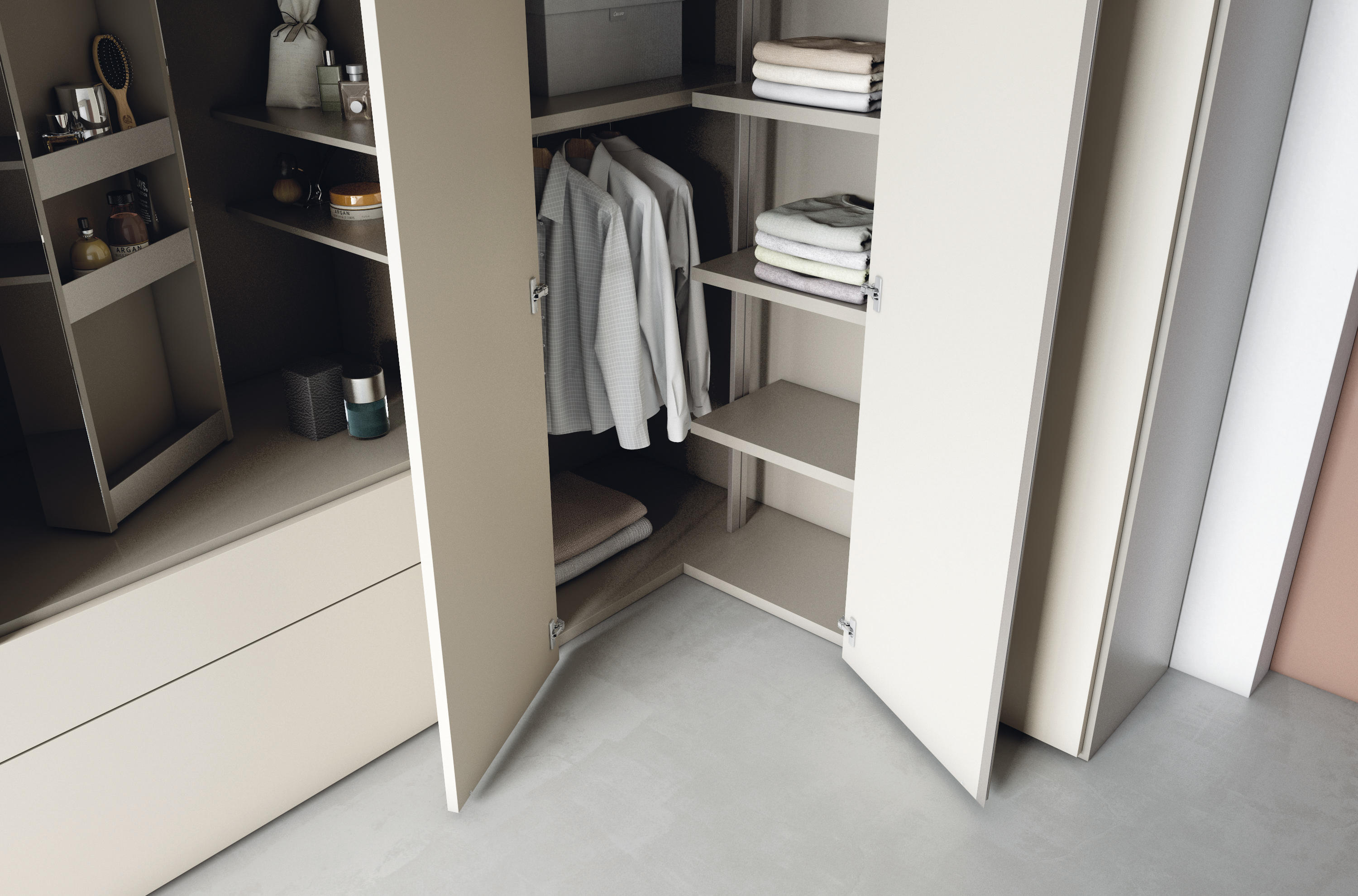 Roomy mirror module cabinets from caccaro architonic for Caccaro roomy