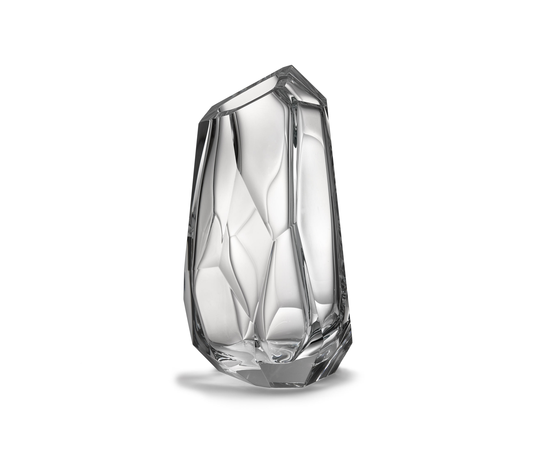 crystal rock vase vases from lasvit architonic. Black Bedroom Furniture Sets. Home Design Ideas