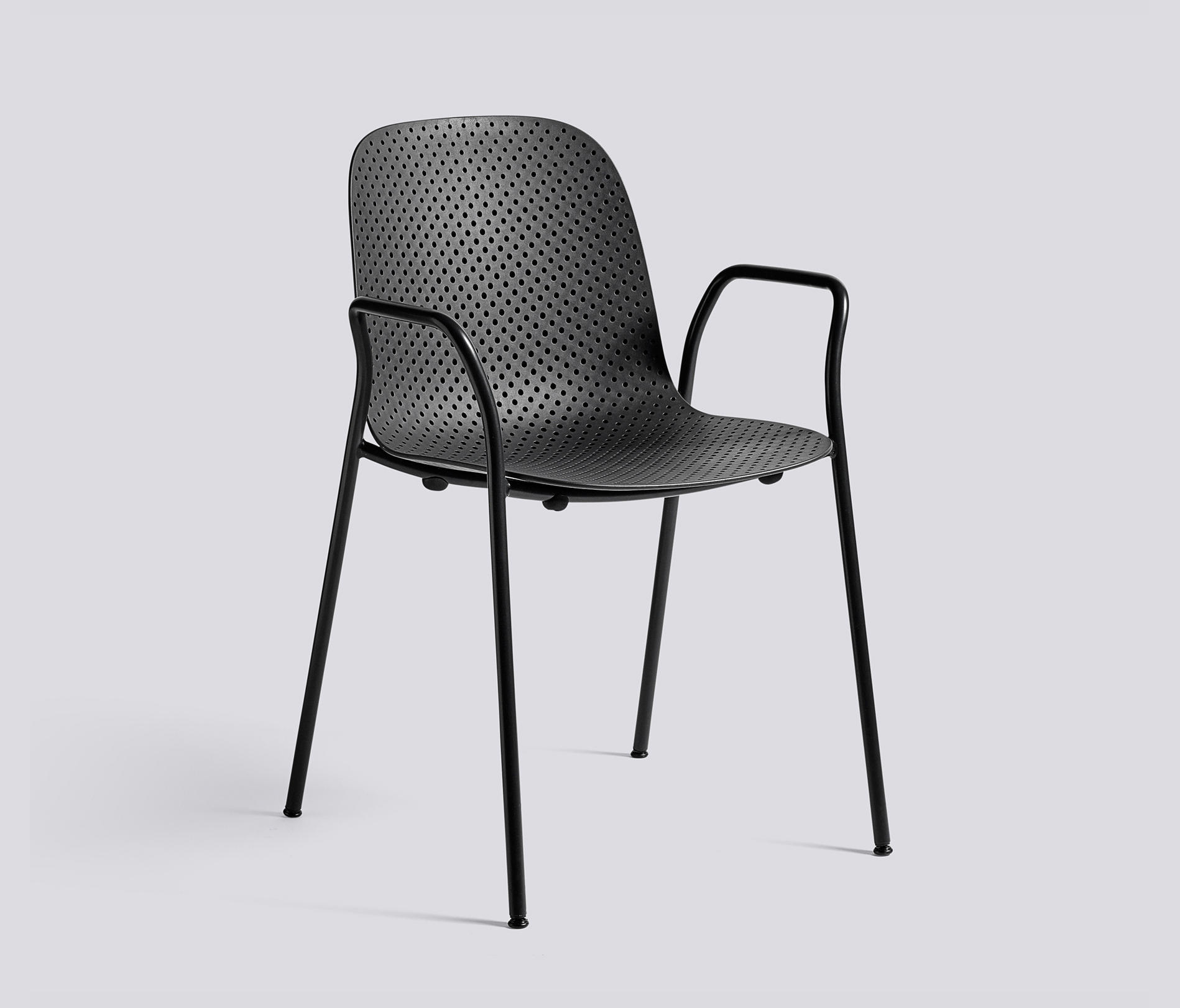13eighty steel frame canteen chairs from hay architonic. Black Bedroom Furniture Sets. Home Design Ideas