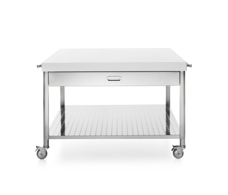 k chenwagen 130 mobile k chen von alpes inox architonic. Black Bedroom Furniture Sets. Home Design Ideas