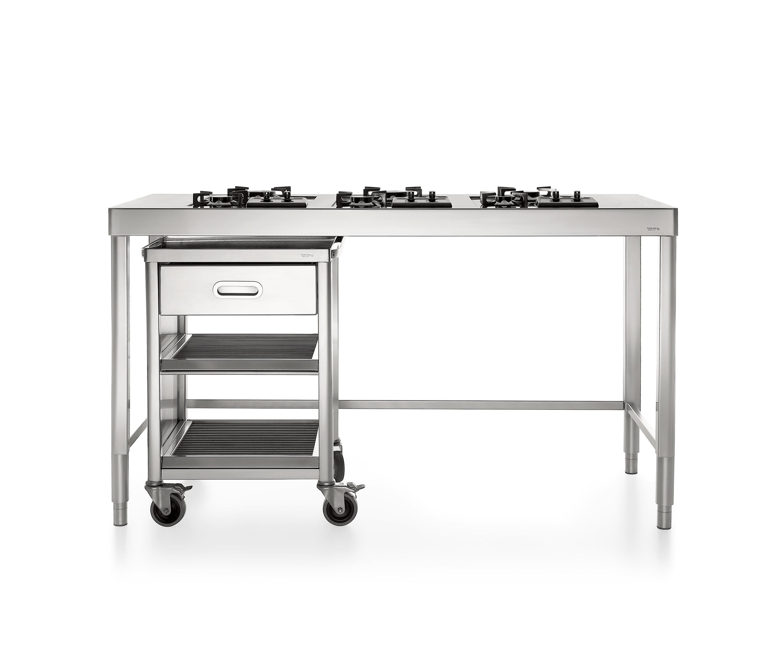 Cucine 160 cucine modulari alpes inox architonic for Cucine modulari