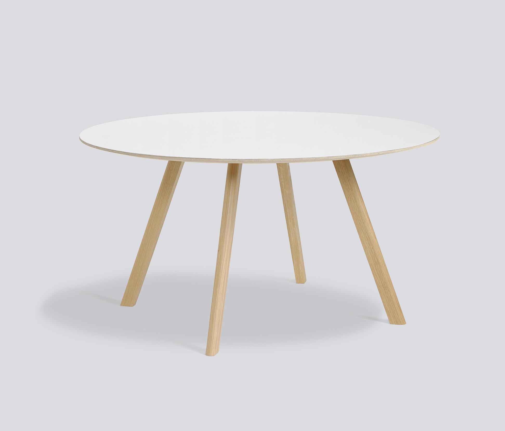 Copenhague round table cph25 restaurant tables from hay for Table khi deux