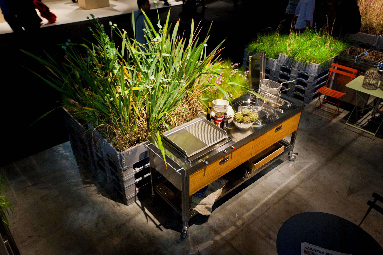 outdoor k chen 190 modulk chen von alpes inox architonic. Black Bedroom Furniture Sets. Home Design Ideas