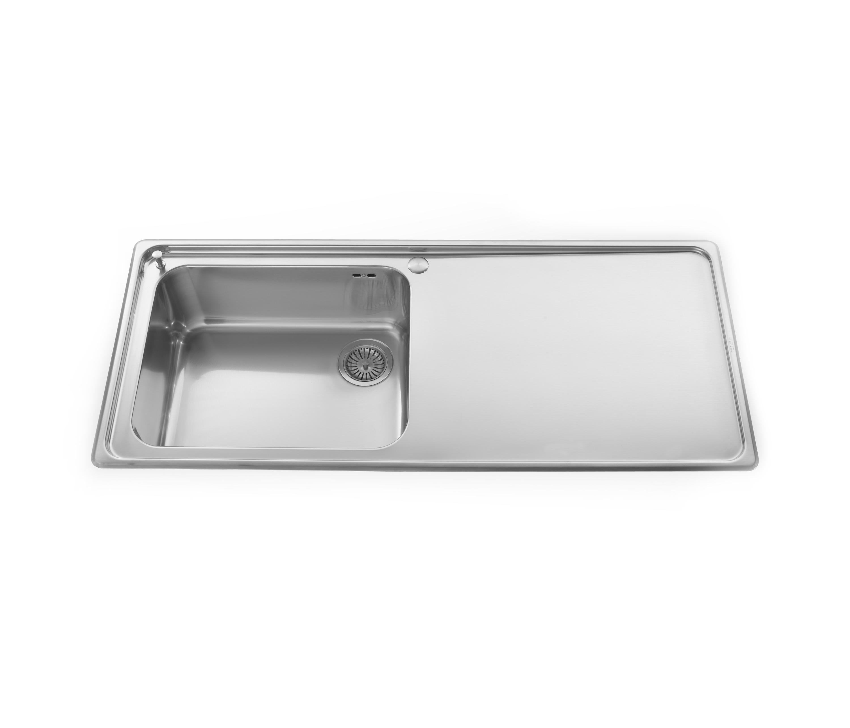 Inox Kitchen Sink : Sinks - Kitchen sinks by ALPES-INOX Architonic