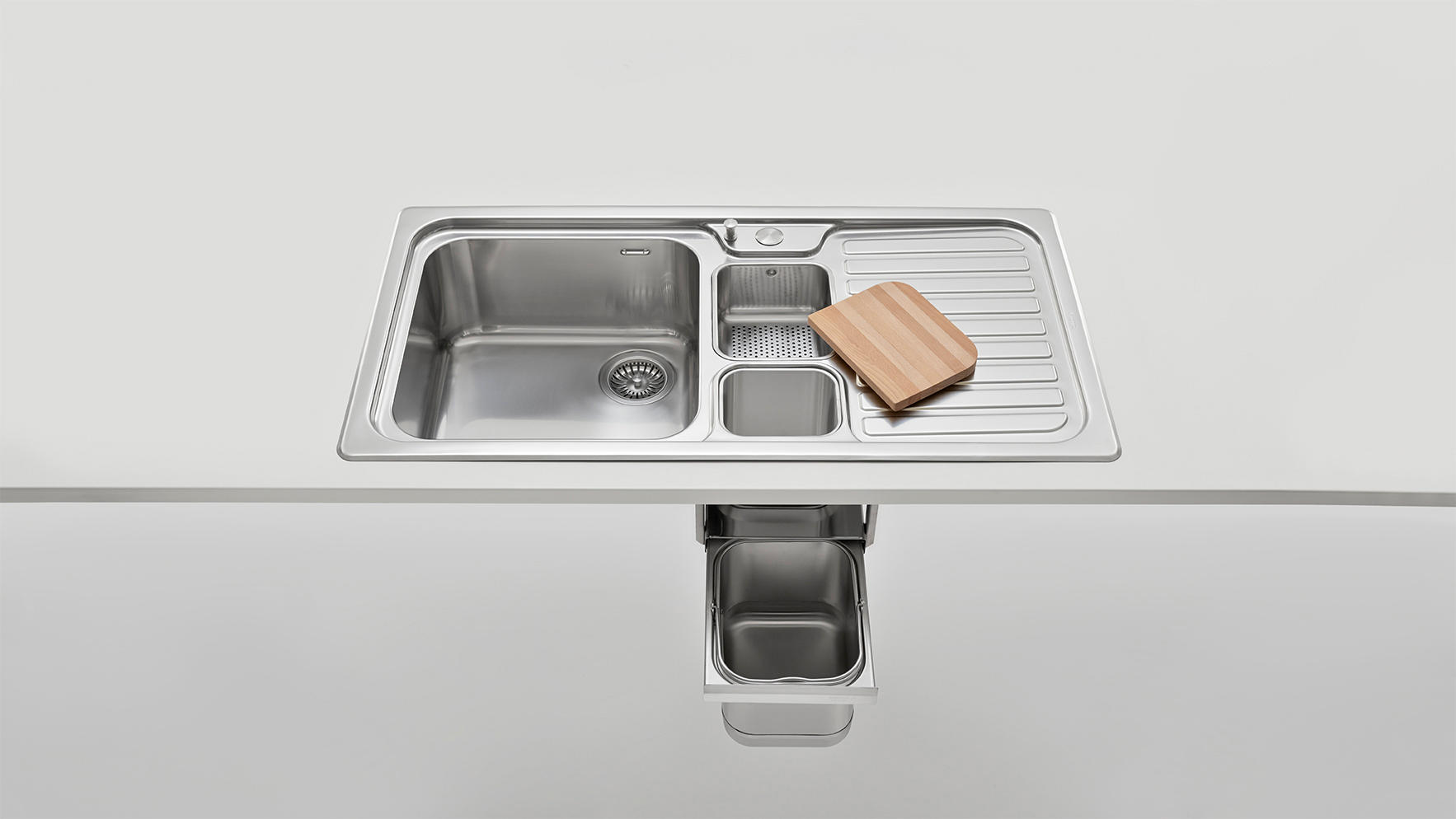 Inox Kitchen Sink : SINKS - Kitchen organization from ALPES-INOX Architonic